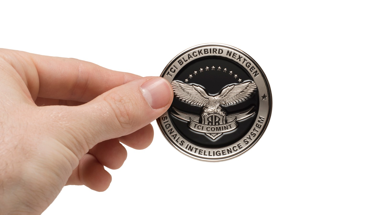TCI BLACKBIRD NEXTGEN PROMOTIONAL COIN