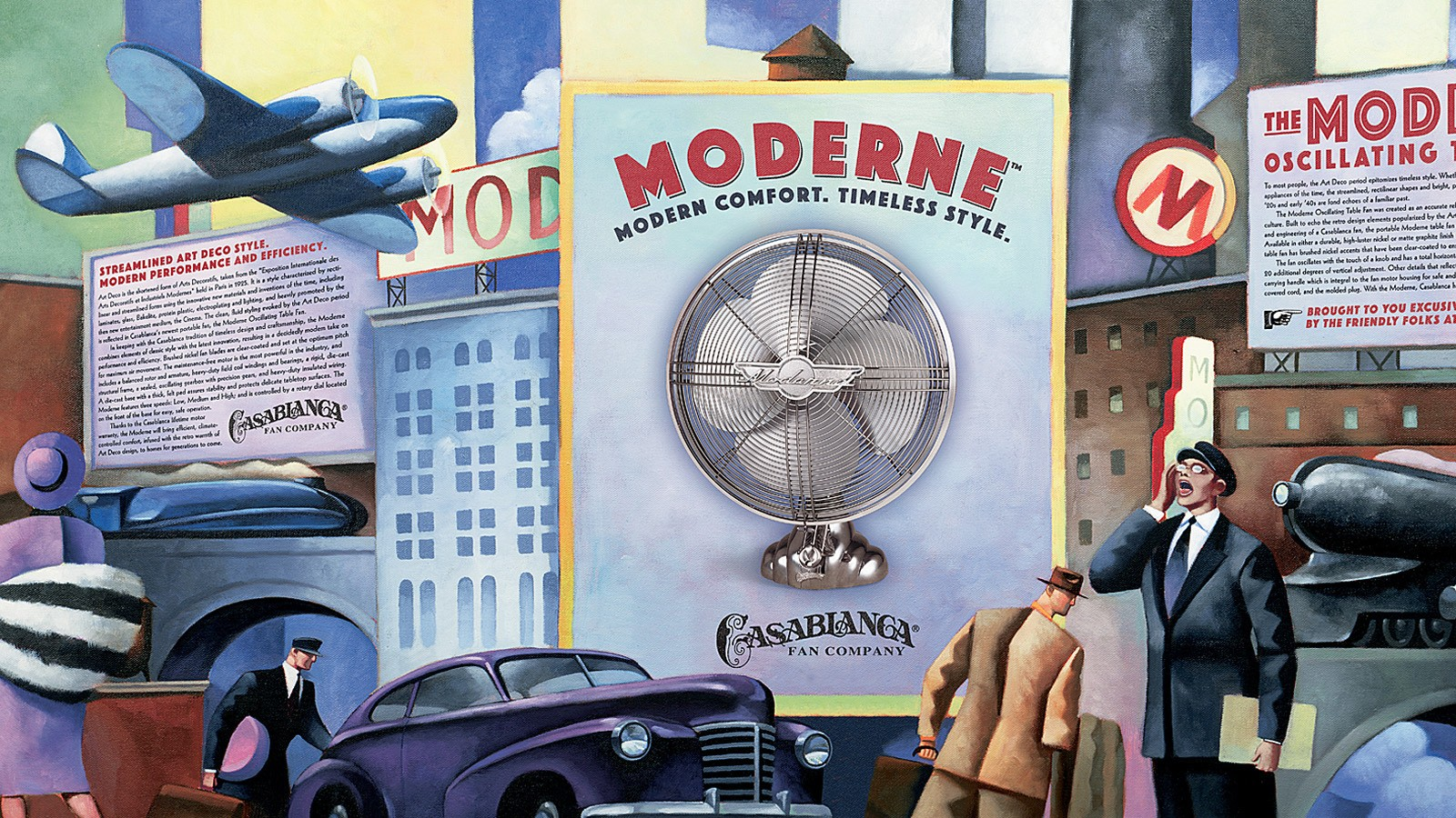 "CASABLANCA ""MODERNE"" PACKAGING"