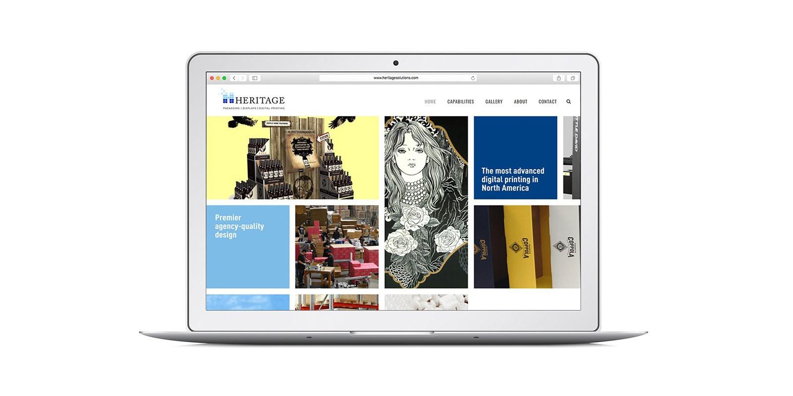 HERITAGE PAPER WEBSITE