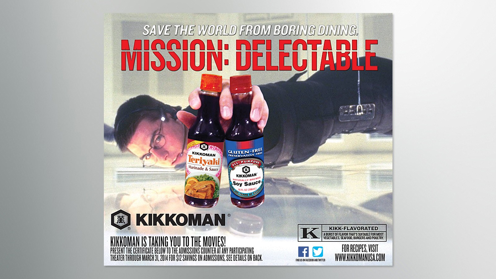 KIKKOMAN USA MOVIE PROMOTION