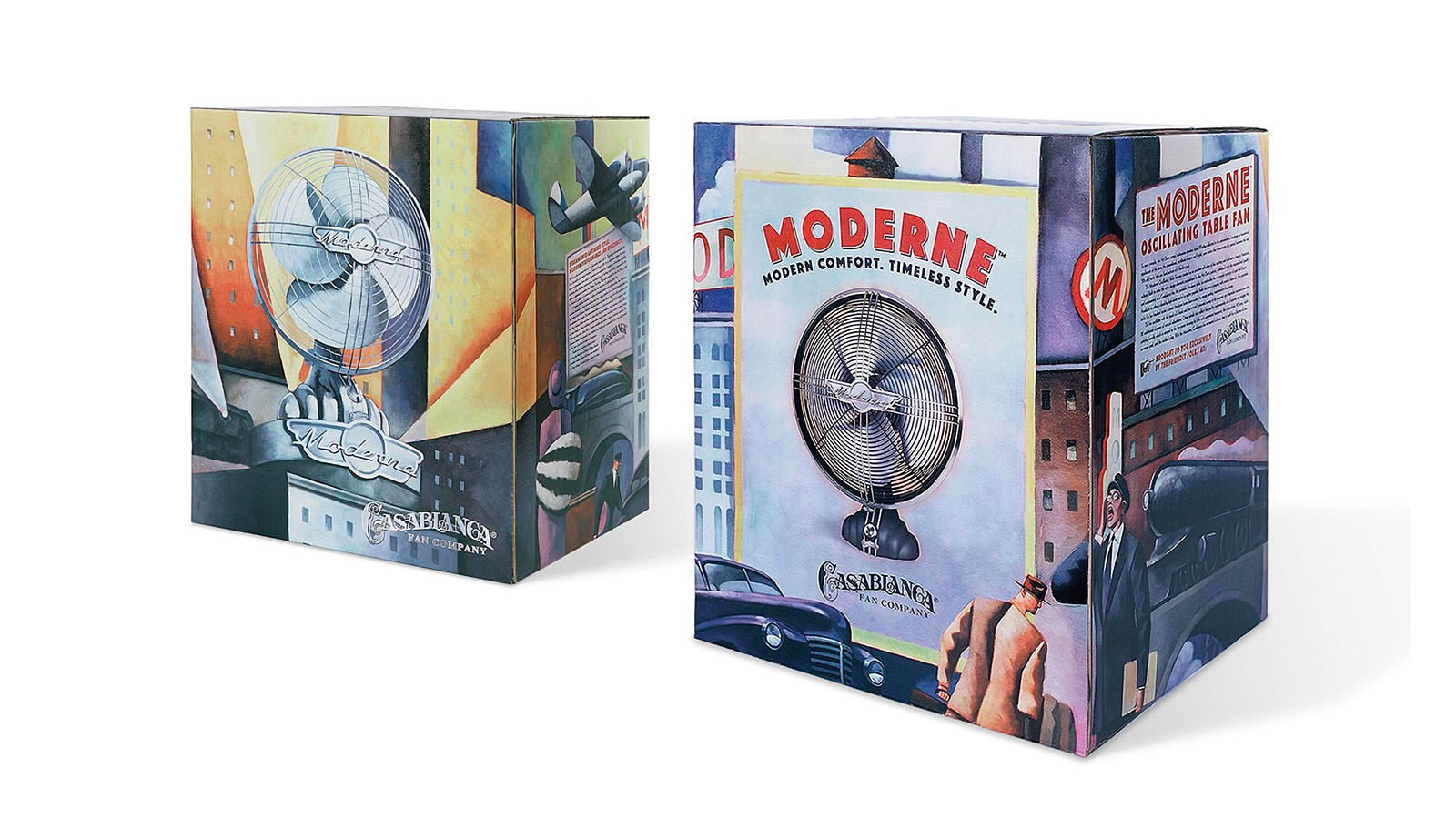 CASABLANCA MODERNE PACKAGING