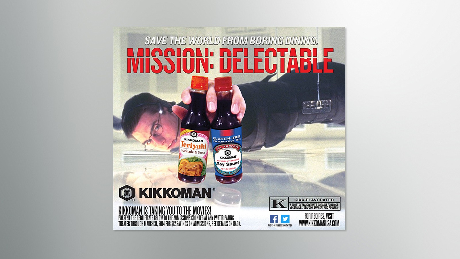 """KIKKOMAN TAKES YOU TO THE MOVIES"" PROMOTION"