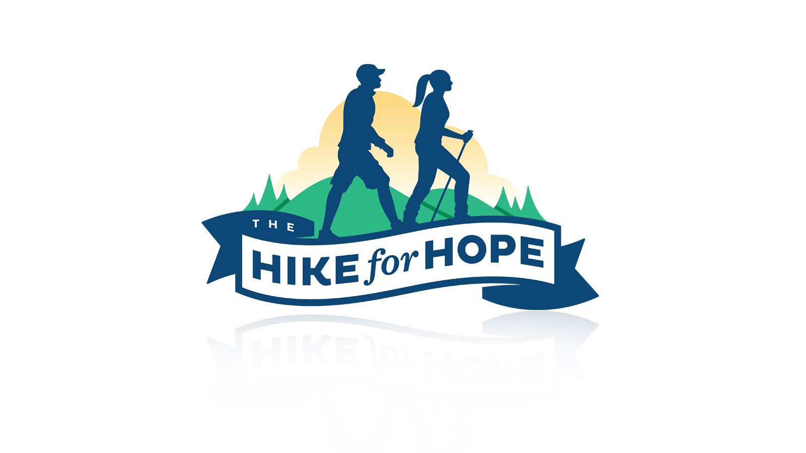 "HOPE HOSPICE ""HIKE FOR HOPE"" LOGO"