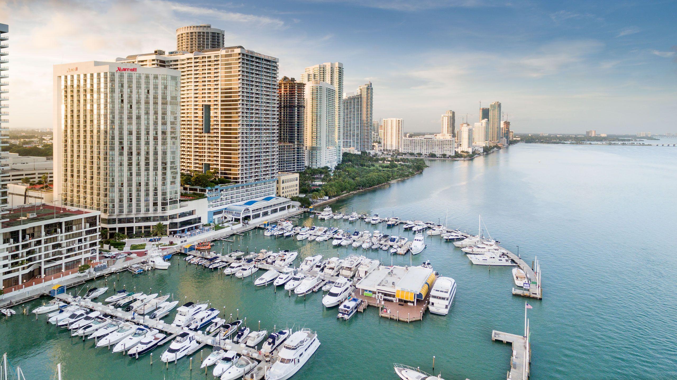 Marriott Biscayne Bay, Miami, Florida
