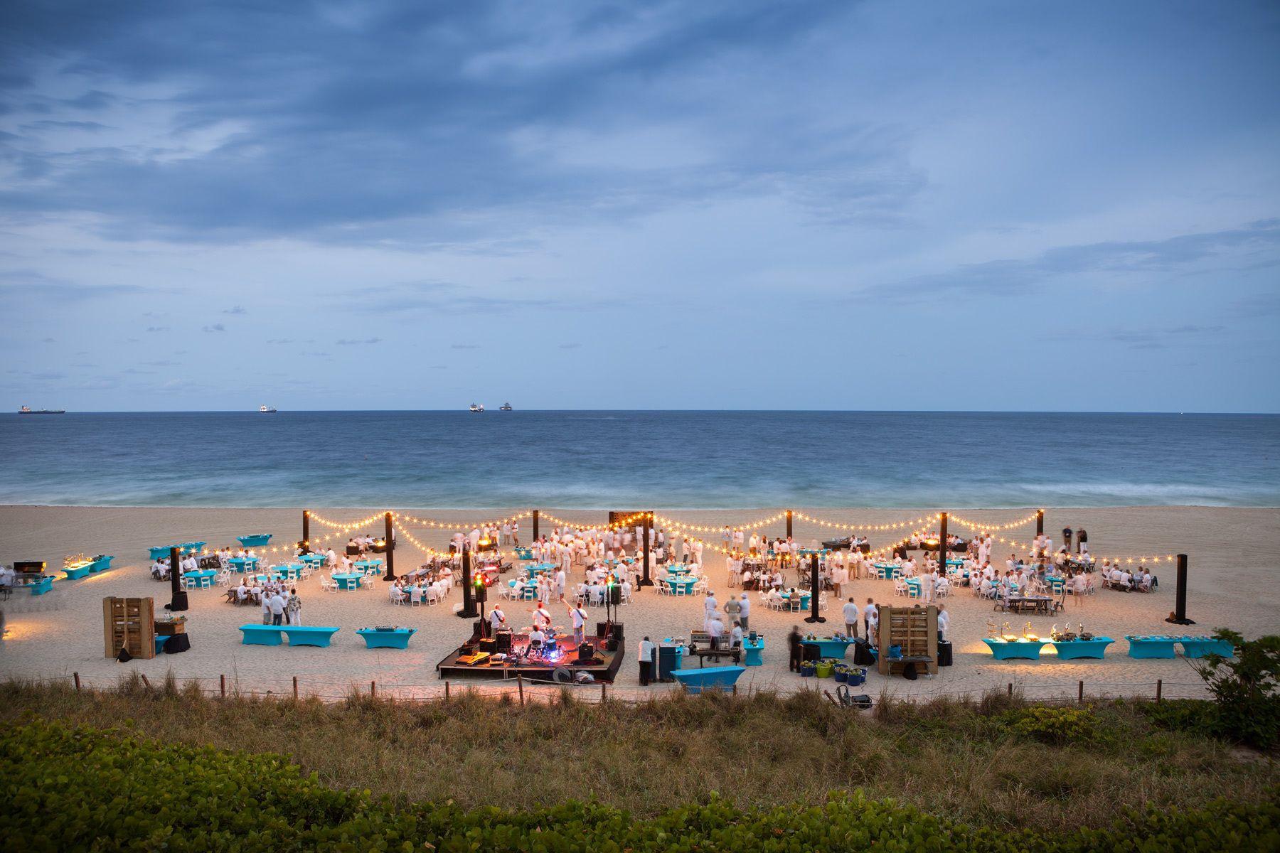 Private Beach Event - Resort