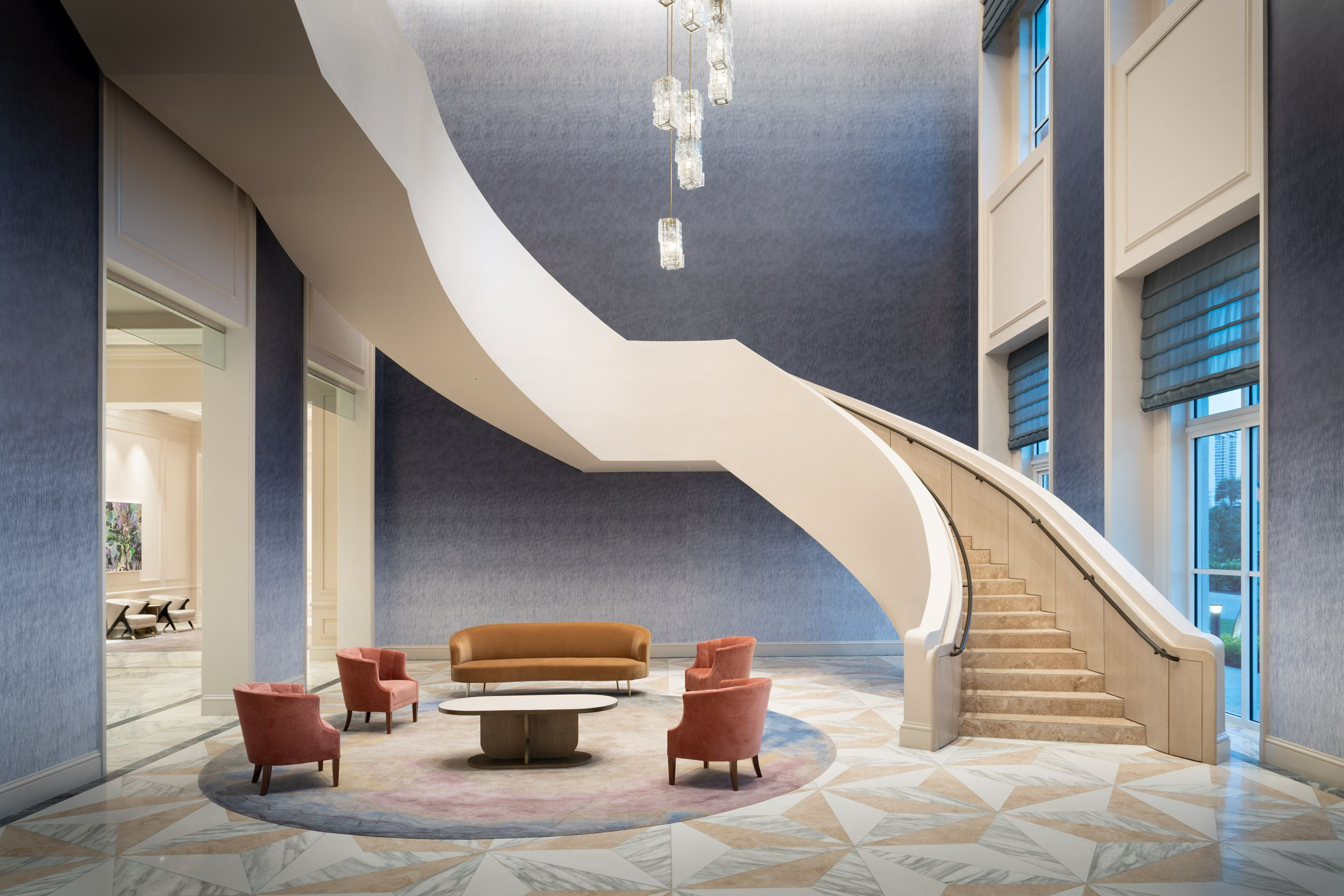 JW Turnberry Grand Staircase