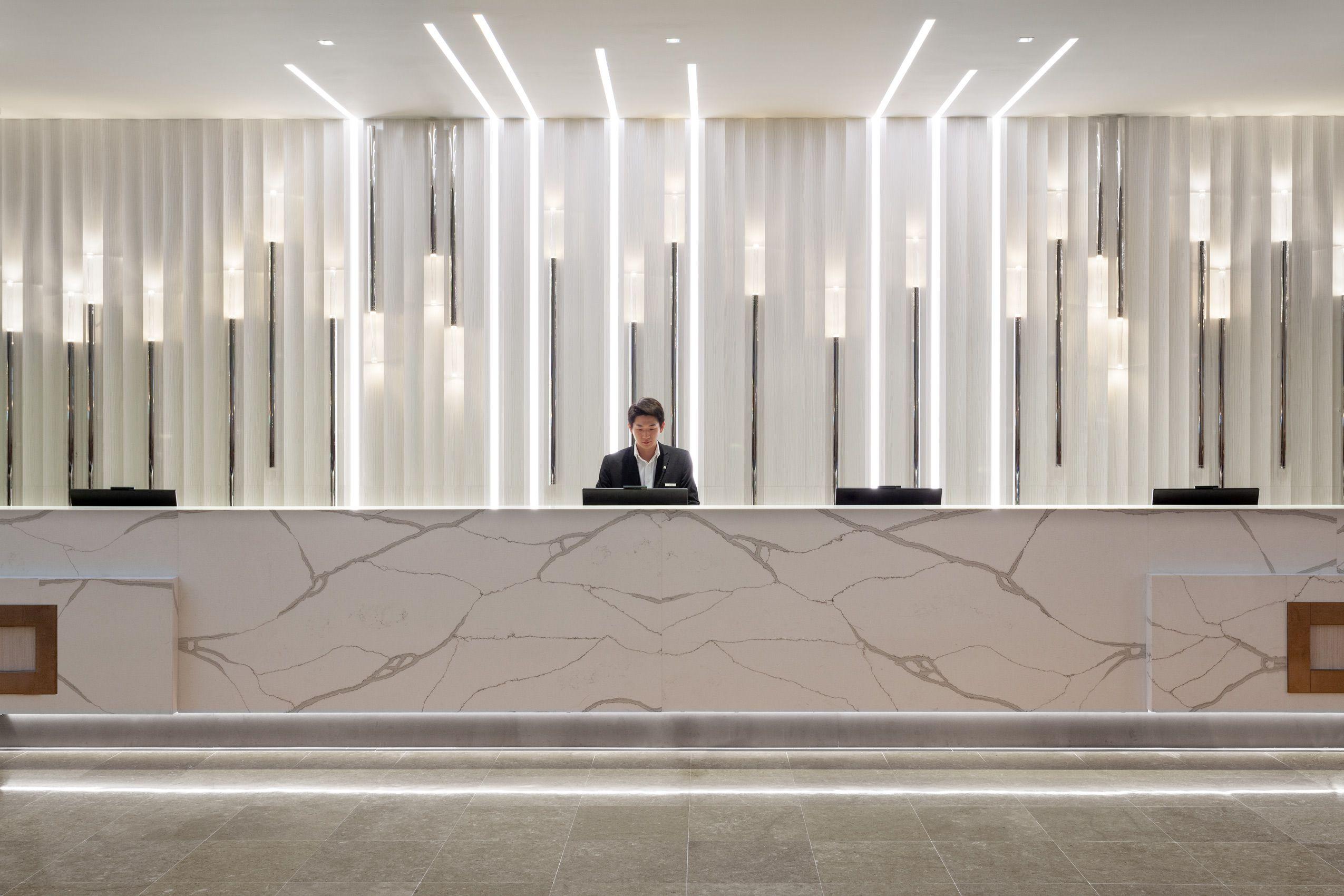 Marriott World Center Reception Desk