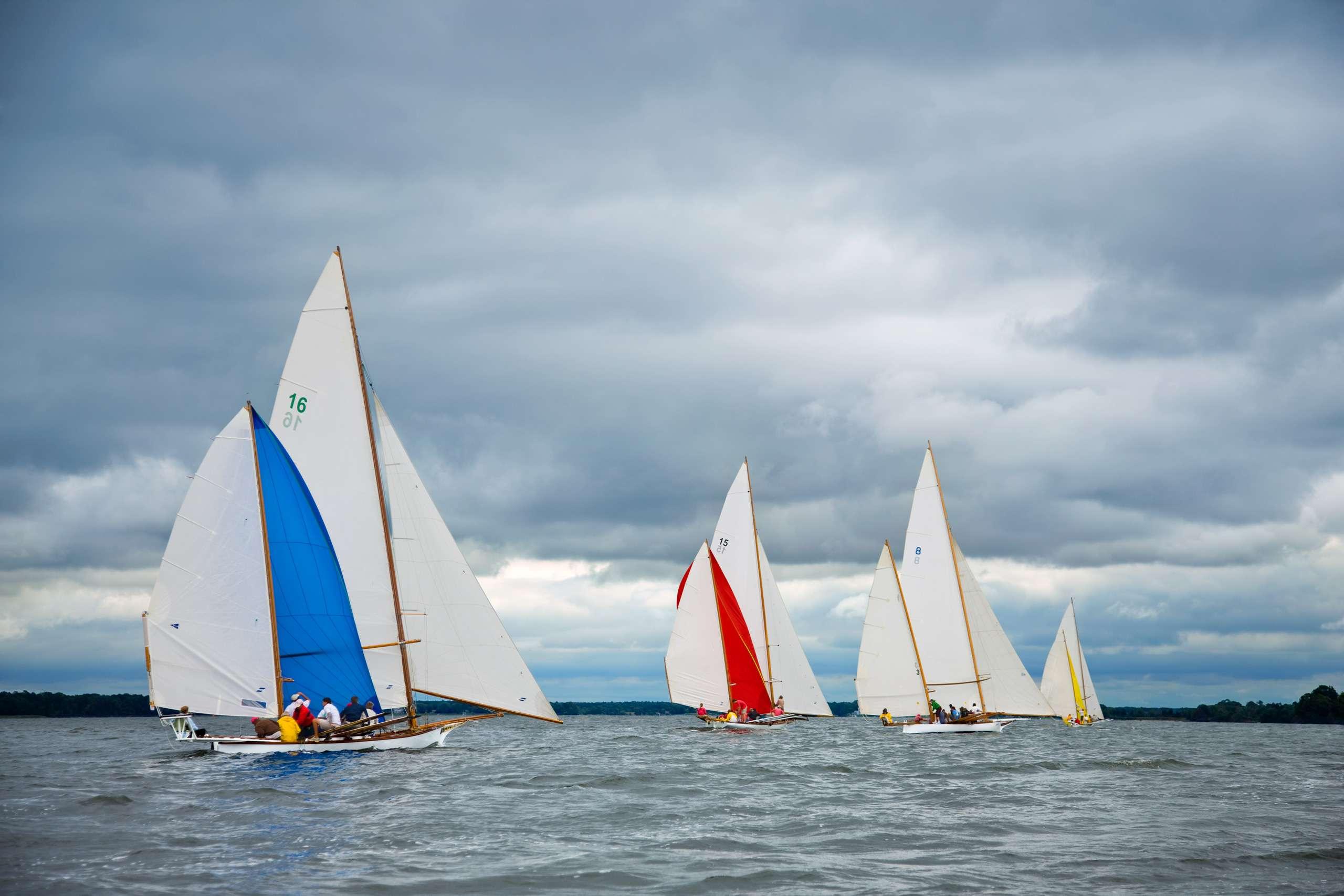 PORTFOLIO - Sailing - Log Canoes #16   PCG524