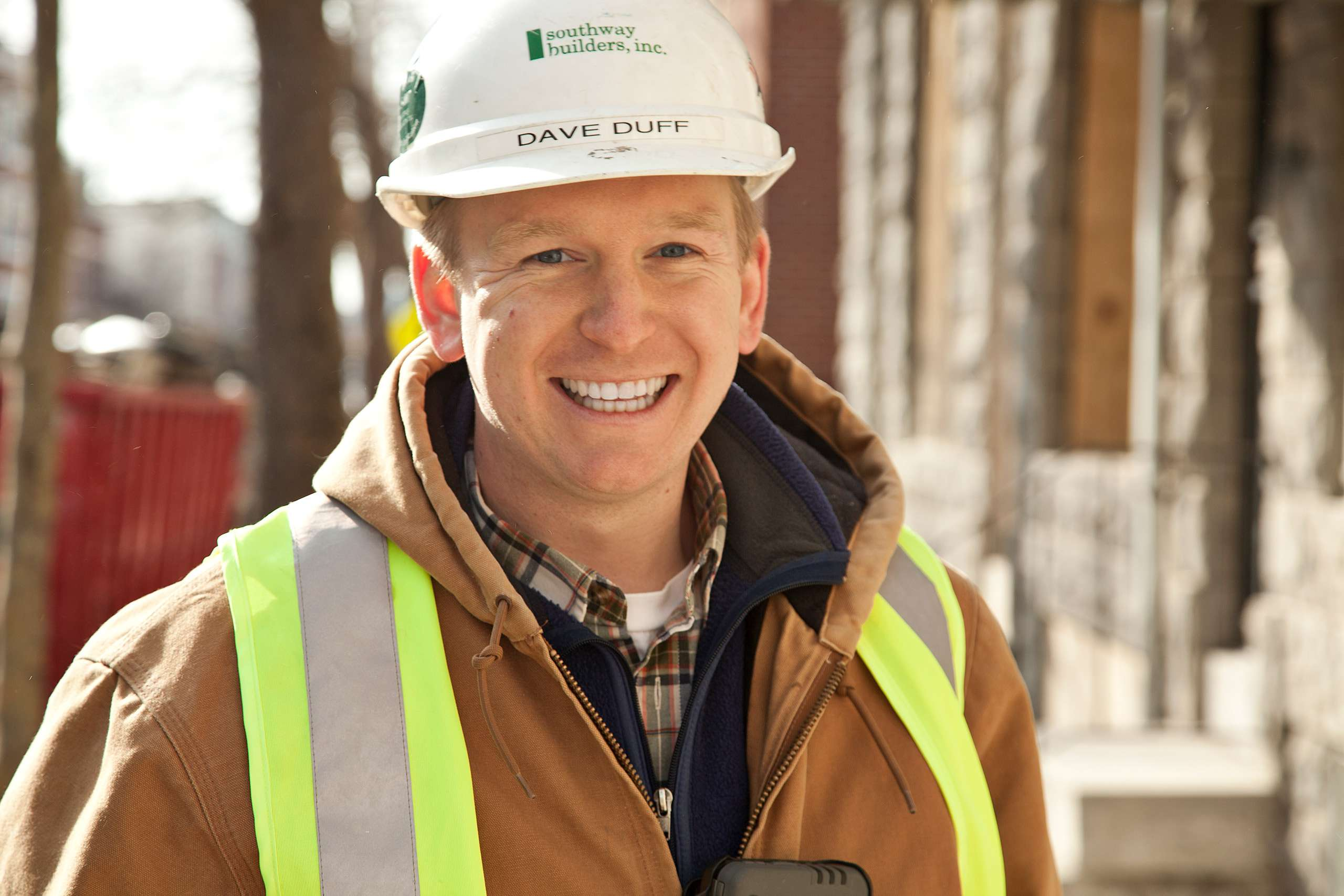 PORTFOLIO - People  #12 Man on Residential Construction Site