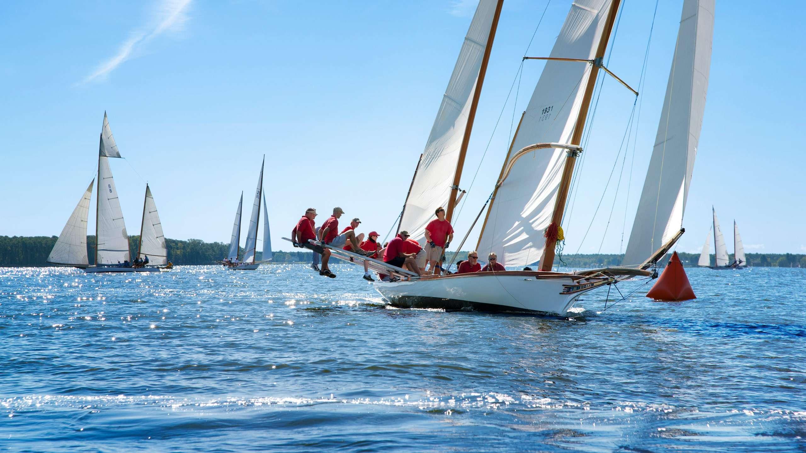 PORTFOLIO - Sailing - Log Canoes #11   PCG557