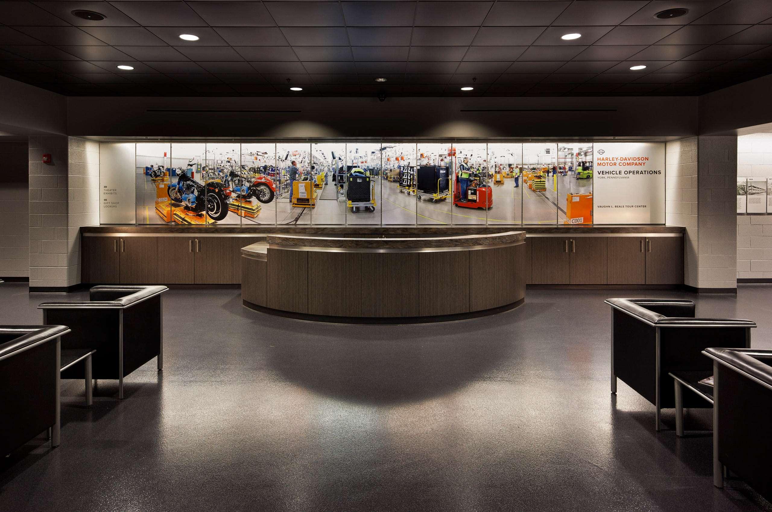 Harley Davidson Tour Center York, PA Plant