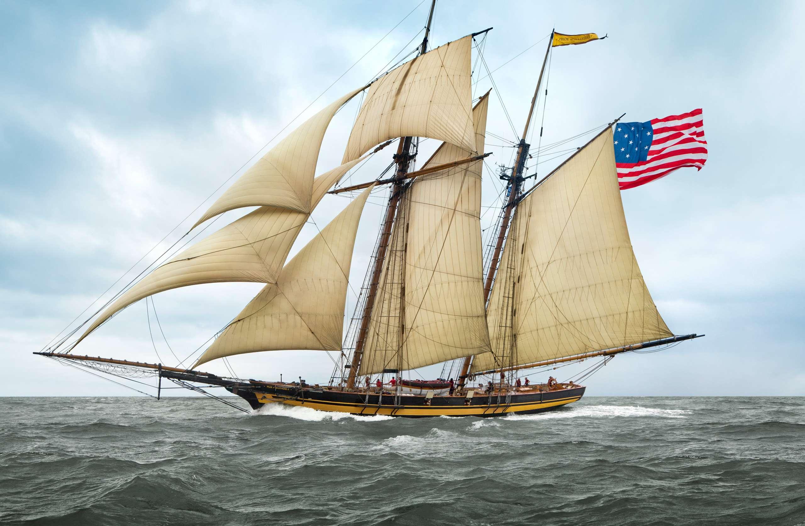PORTFOLIO - Sailing - Windjammers #2   PCG683