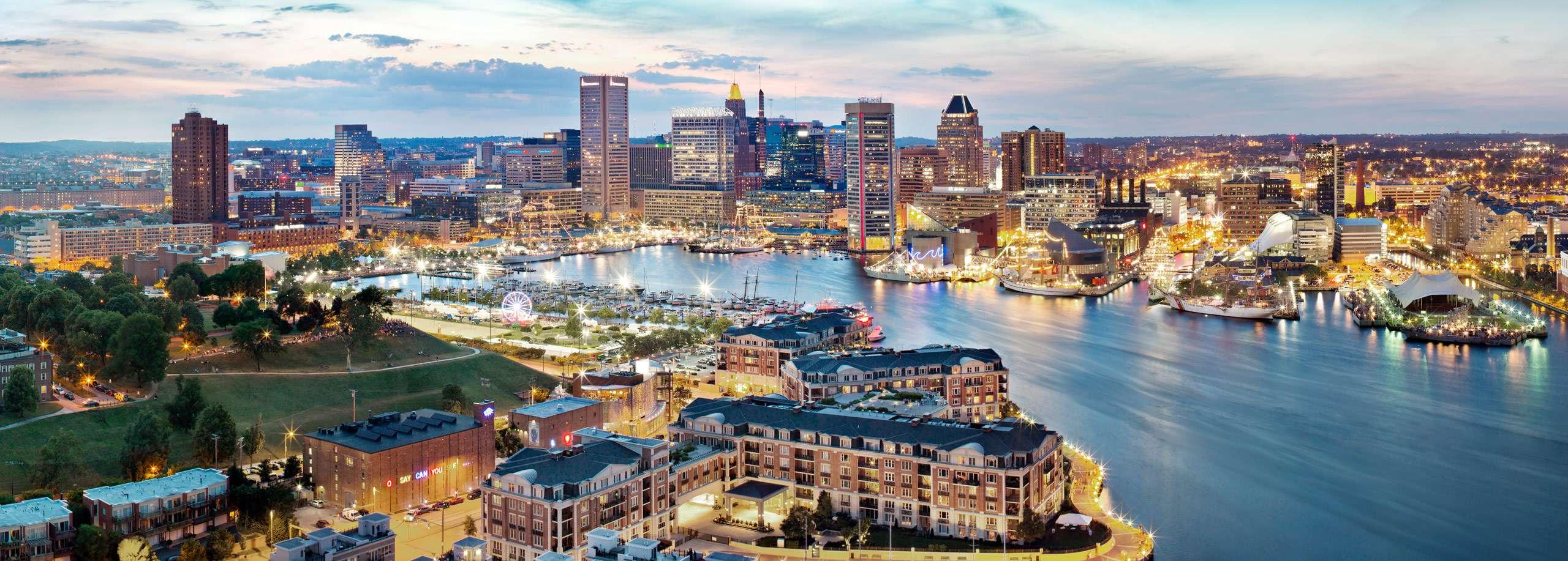 PORTFOLIO - Baltimore Skylines  #13-PCG677