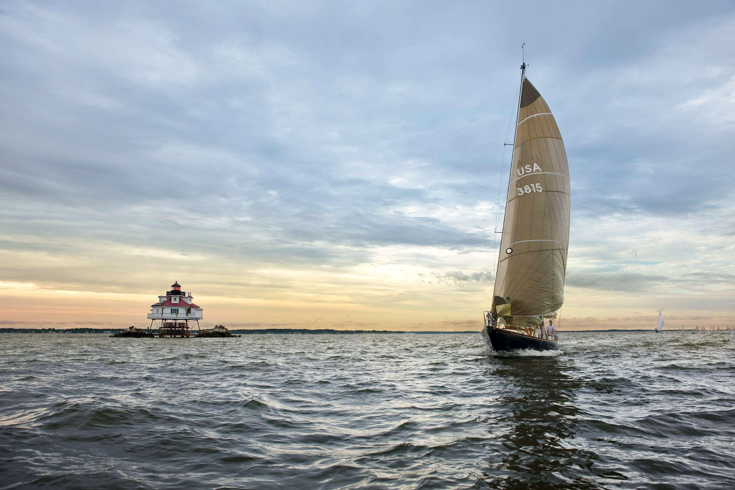 PORTFOLIO - Sailing - Chesapeake #25    PCG439