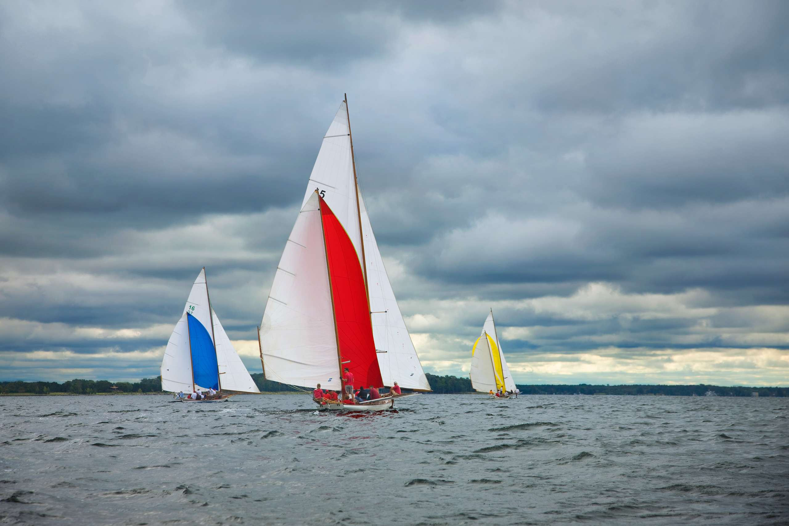 PORTFOLIO - Sailing - Log Canoes #17   PCG521