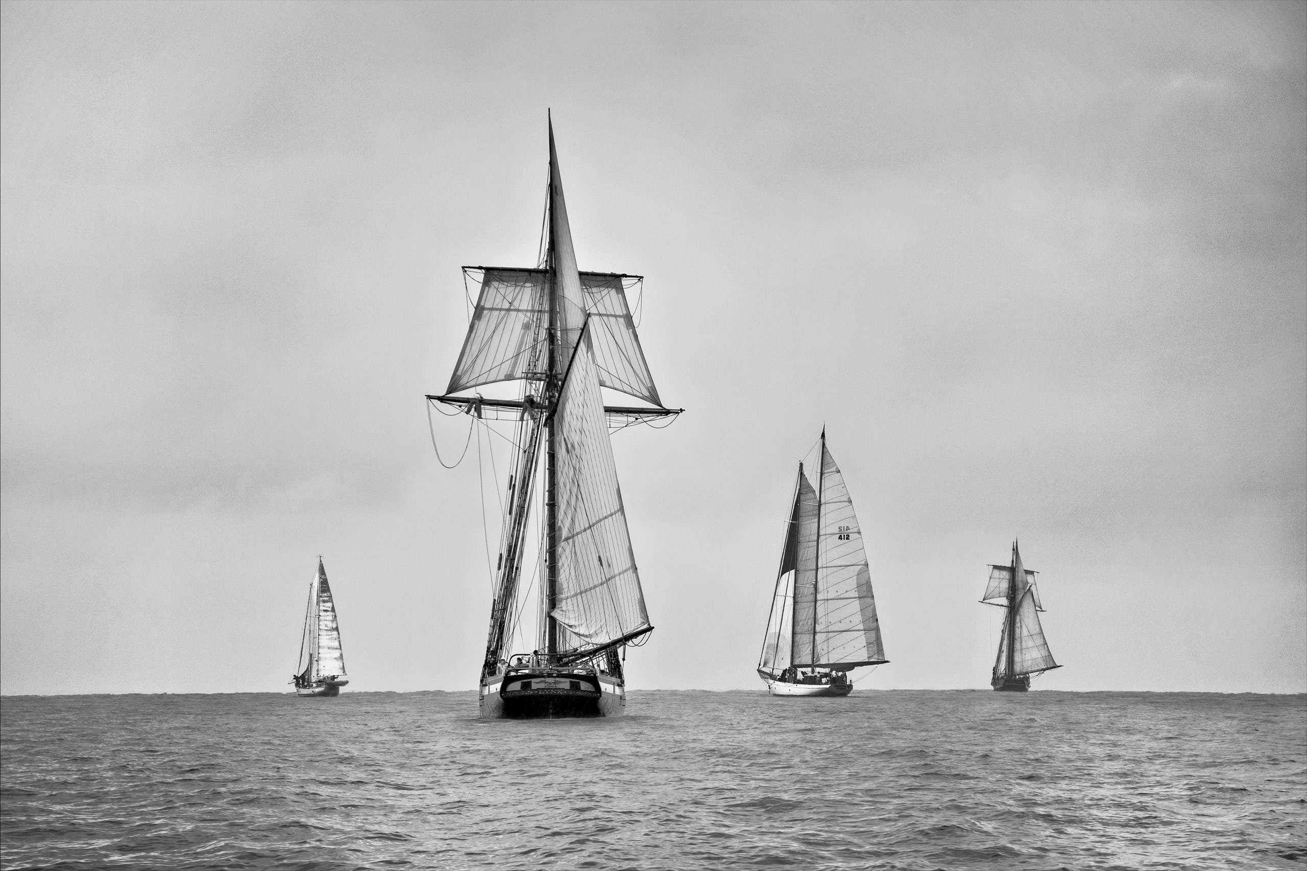 PORTFOLIO - Maritime #3 - B&W - PCG596
