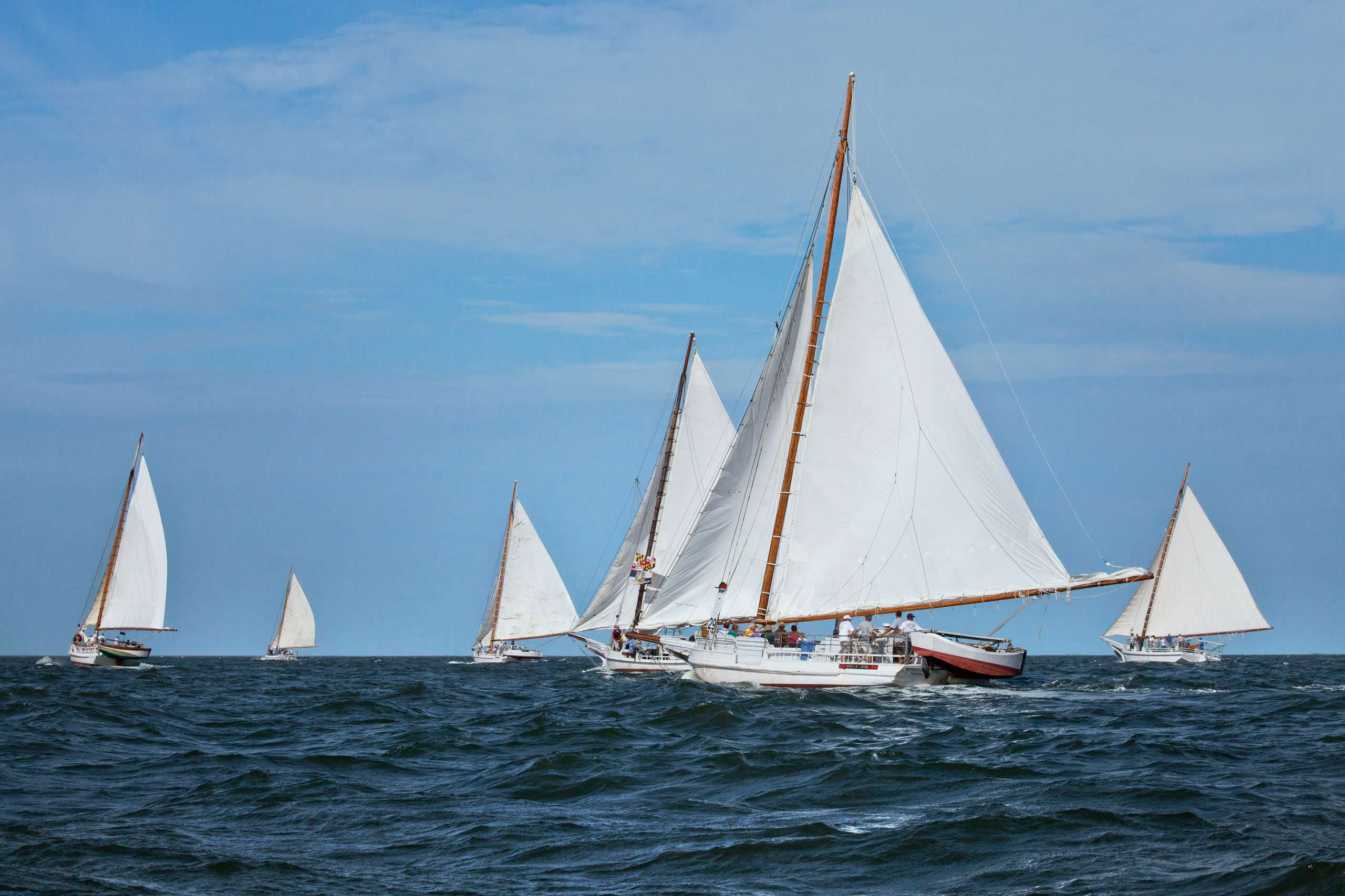 PORTFOLIO - Sailing - Skipjacks #9  PCG654