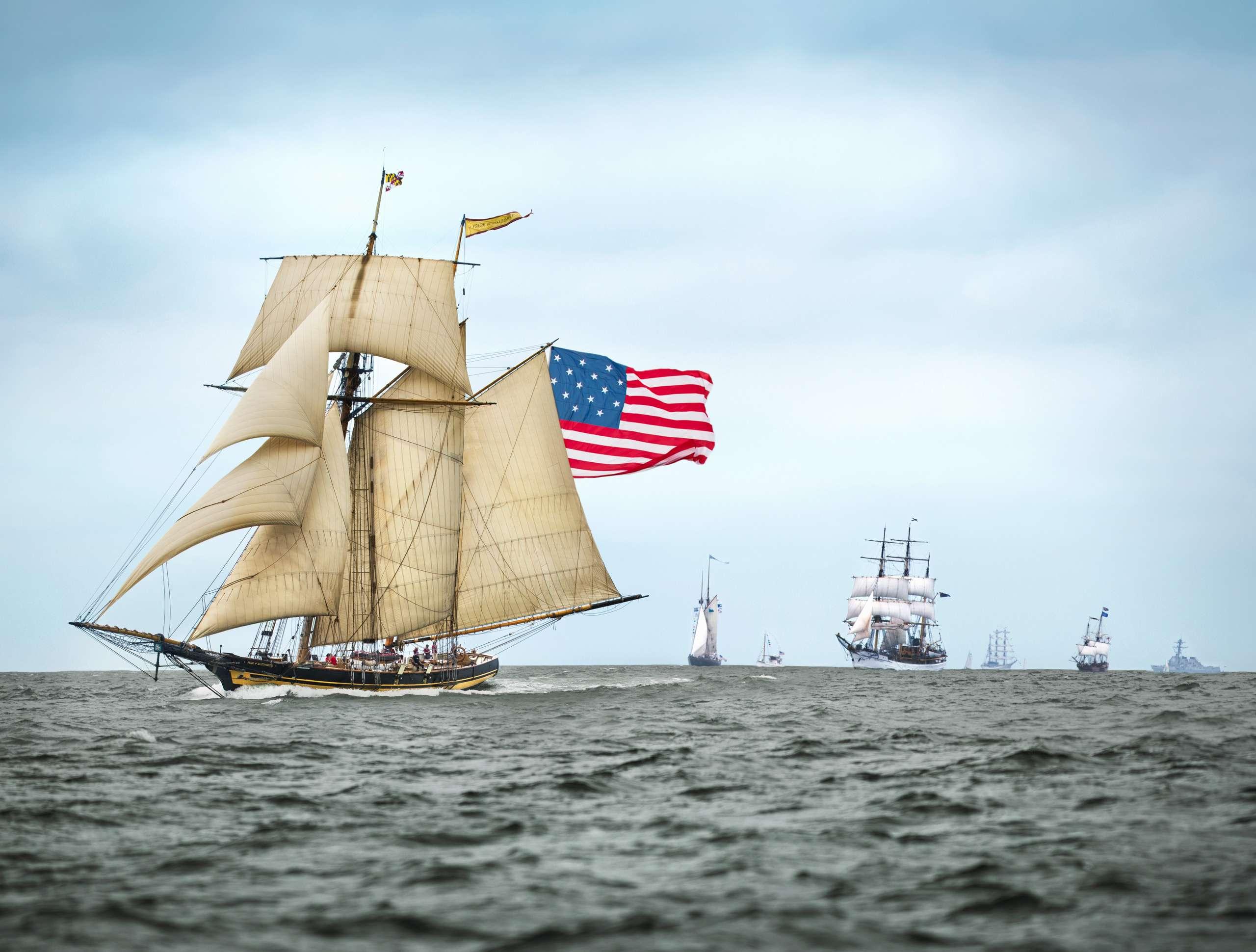 PORTFOLIO - Sailing - Windjammers  #1 - PCG687
