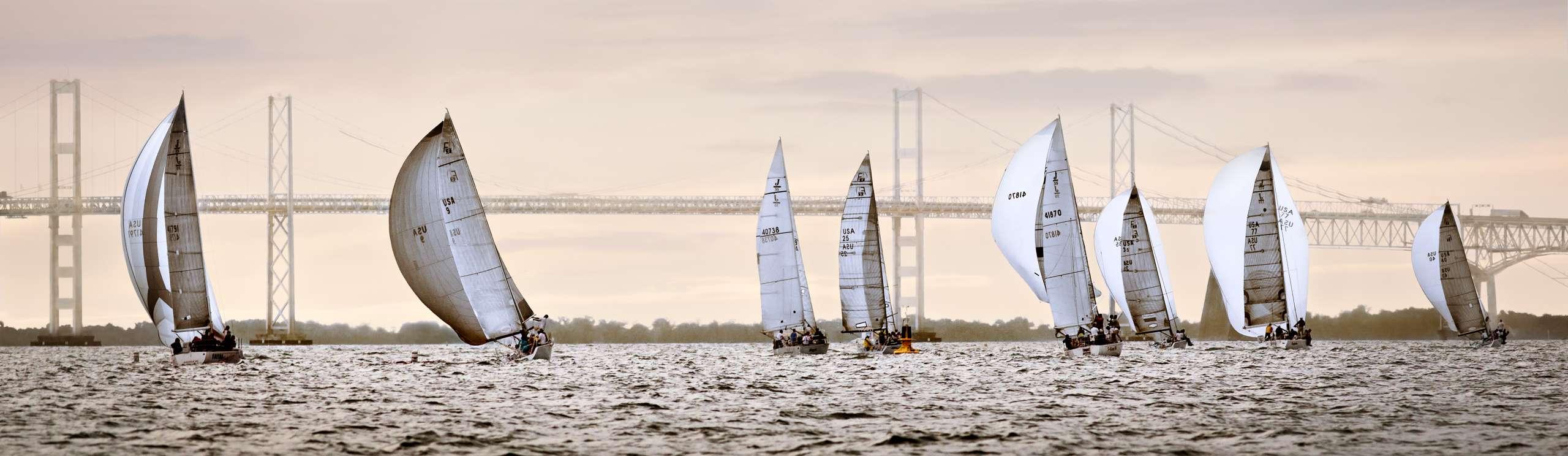 PORTFOLIO - Sailing - Chesapeake #8    PCG754