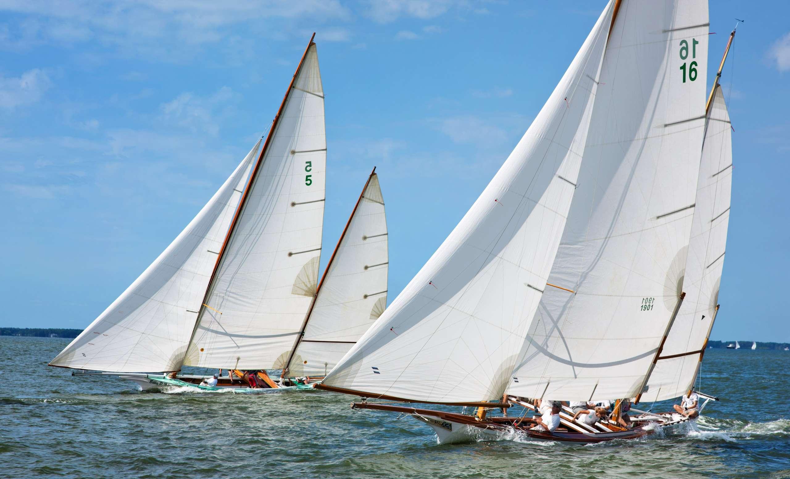 PORTFOLIO - Sailing - Log Canoes #7    PCG530