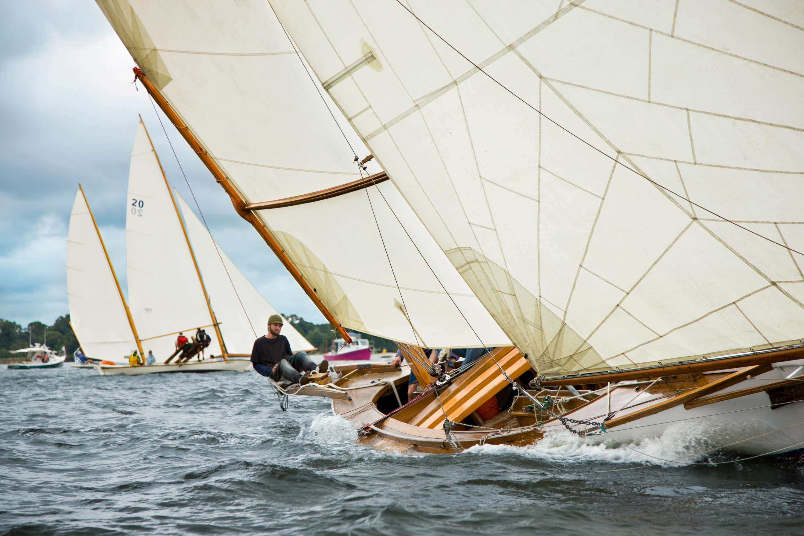 PORTFOLIO - Sailing - Log Canoes #13   PCG528