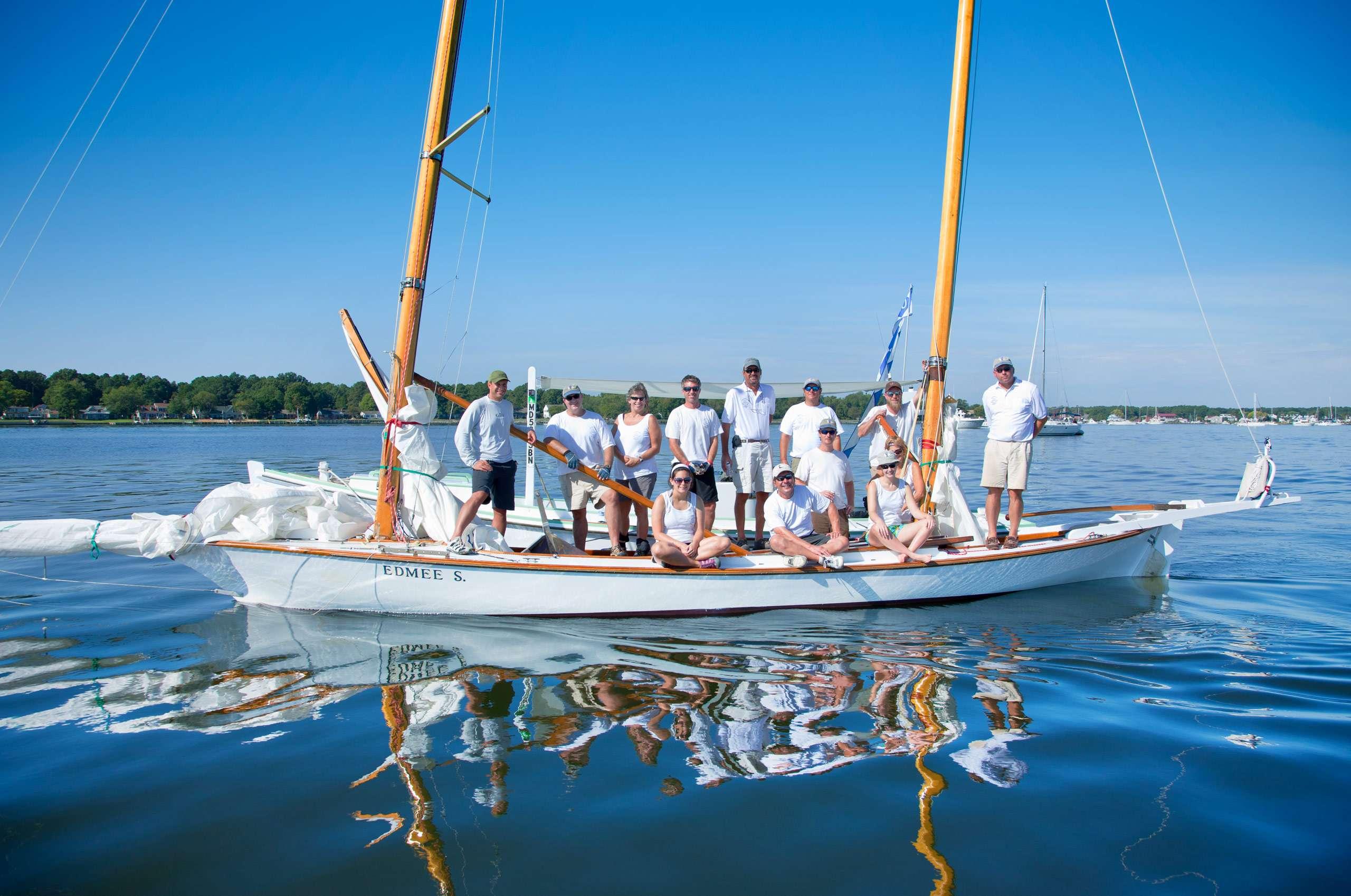 PORTFOLIO - People #19 and Sailing-Log Canoes  #30