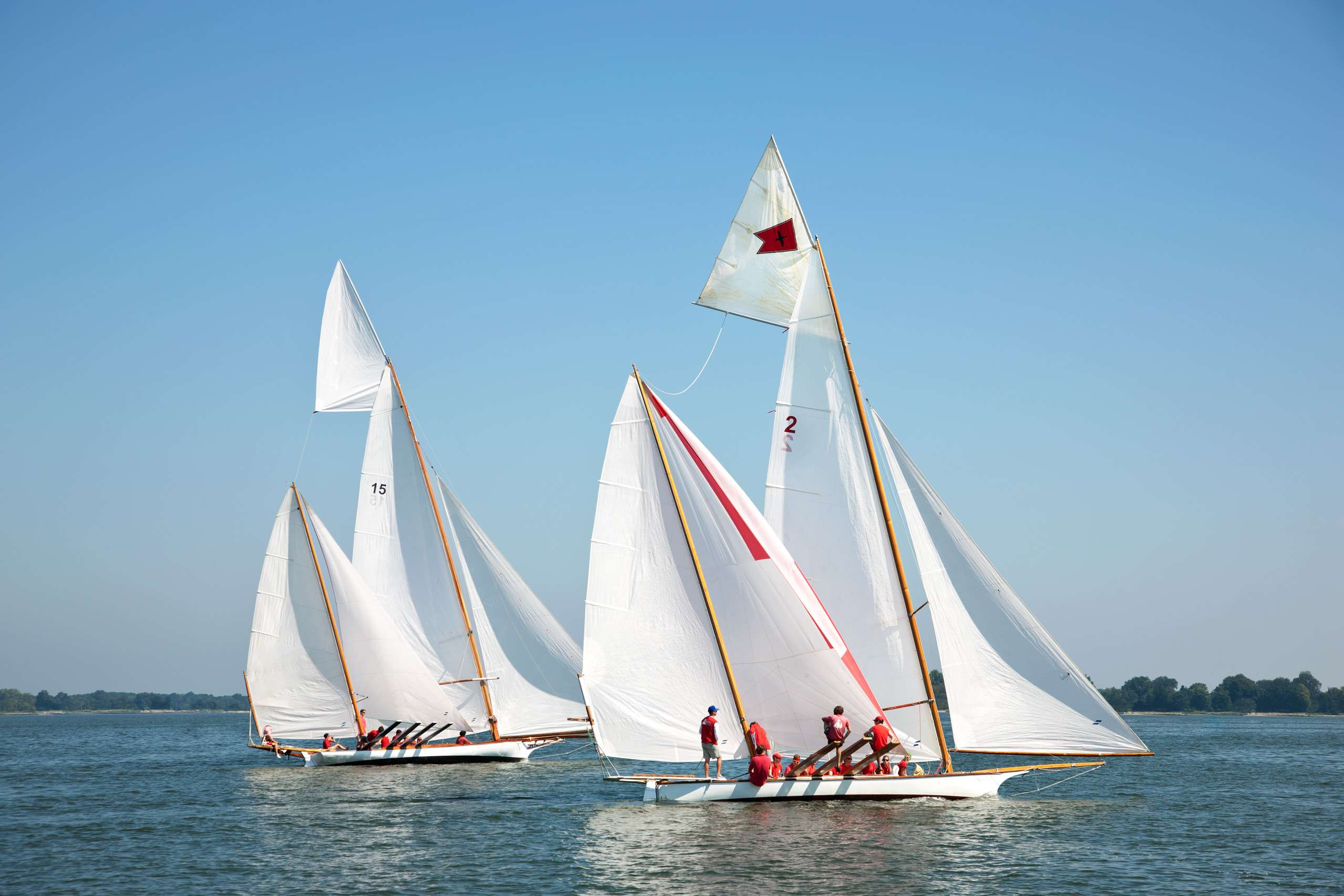 PORTFOLIO - Sailing - Log Canoes #20   PCG558
