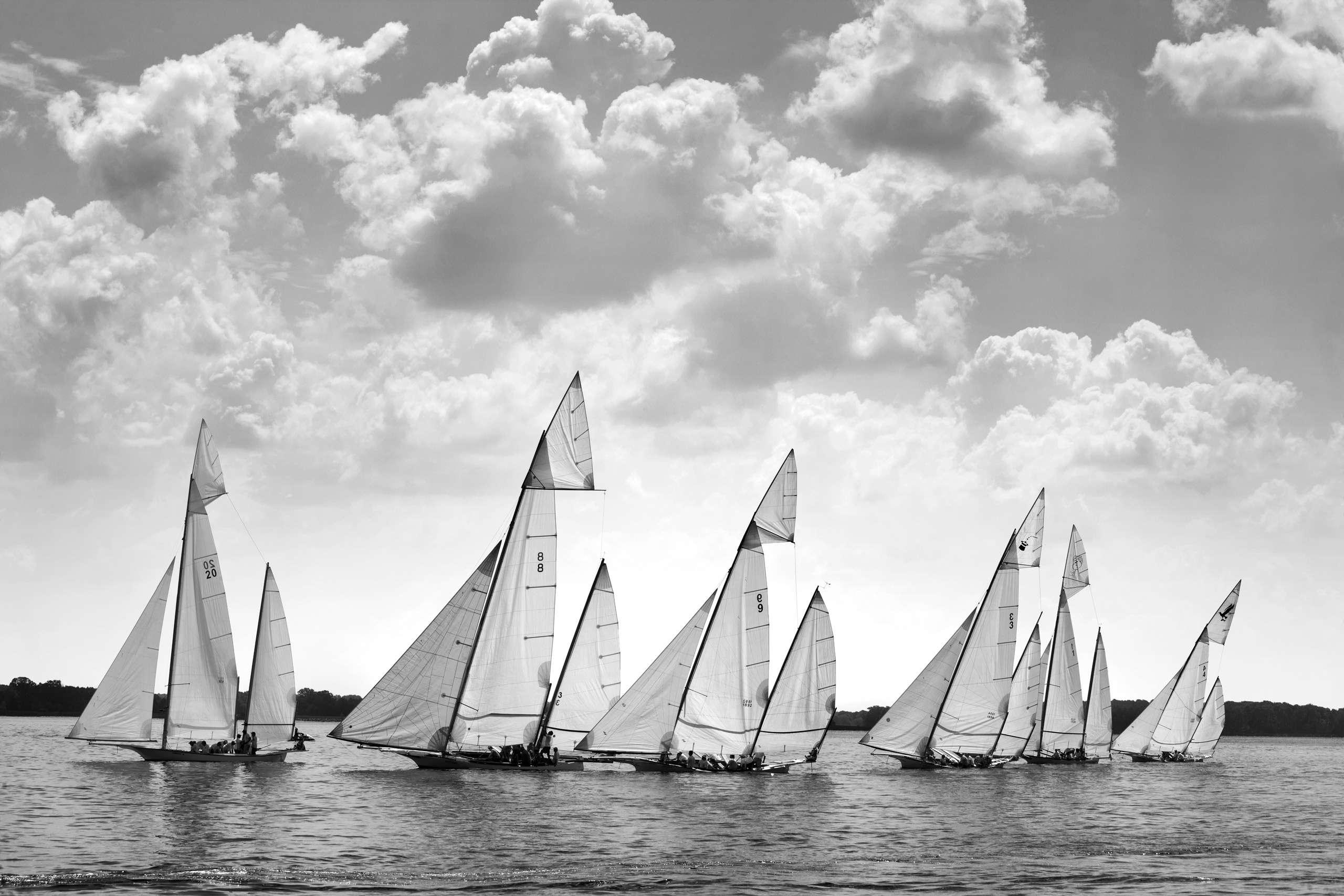 PORTFOLIO - Sailing - Log Canoes #3   PCG571