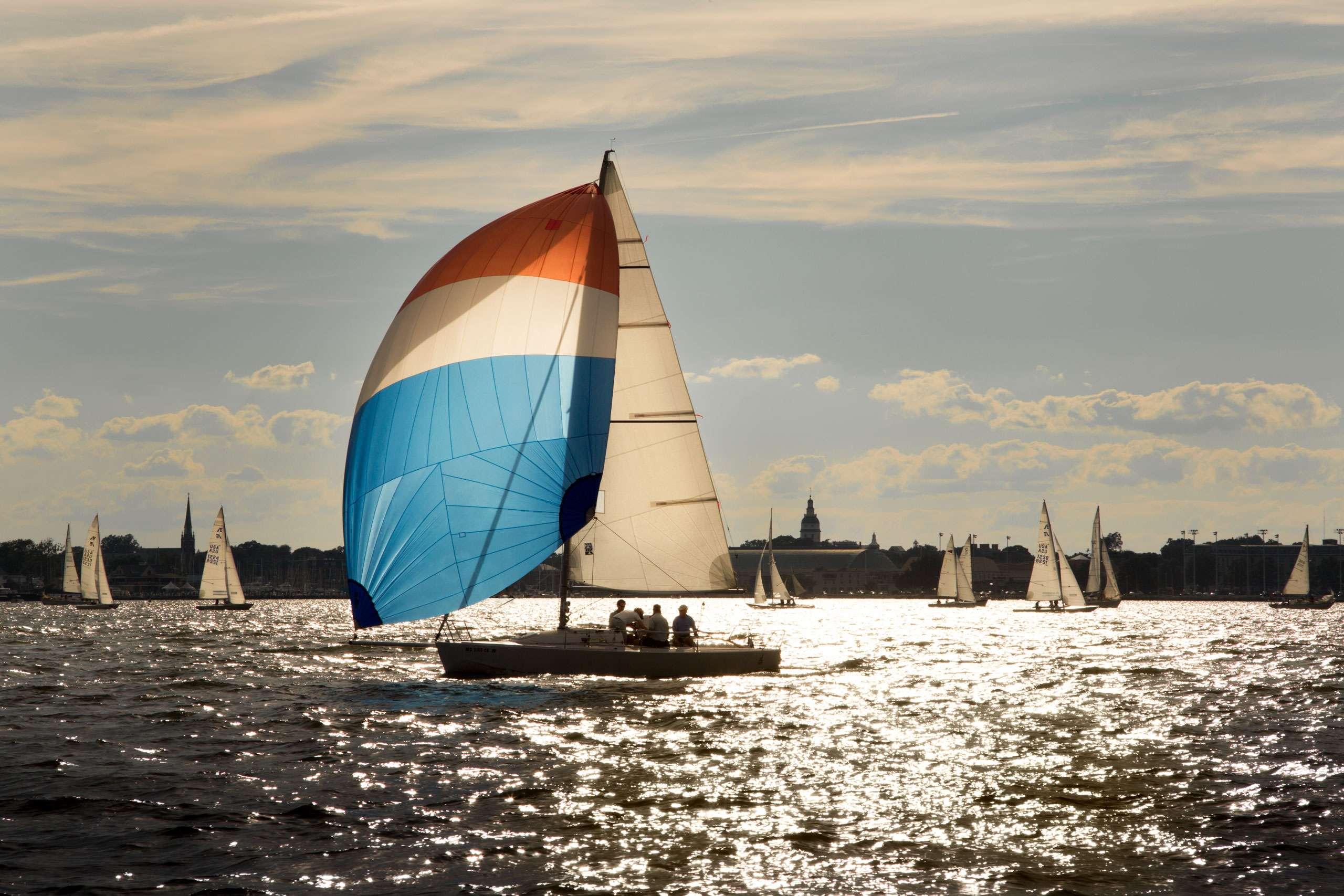 PORTFOLIO - Sailing - Chesapeake #9    PCG784