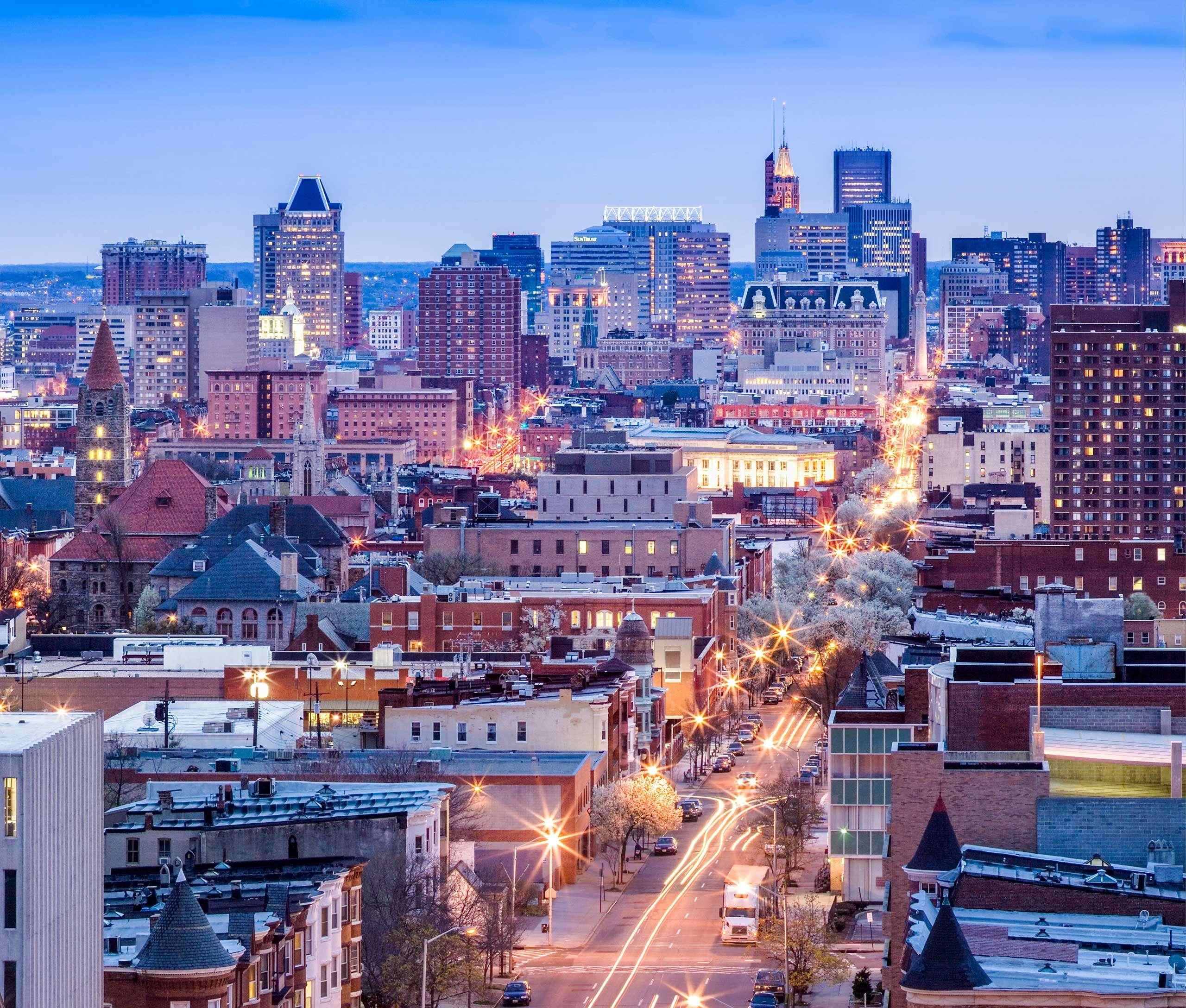 Portfolio - Baltimore - Skylines #23 - PCG 494