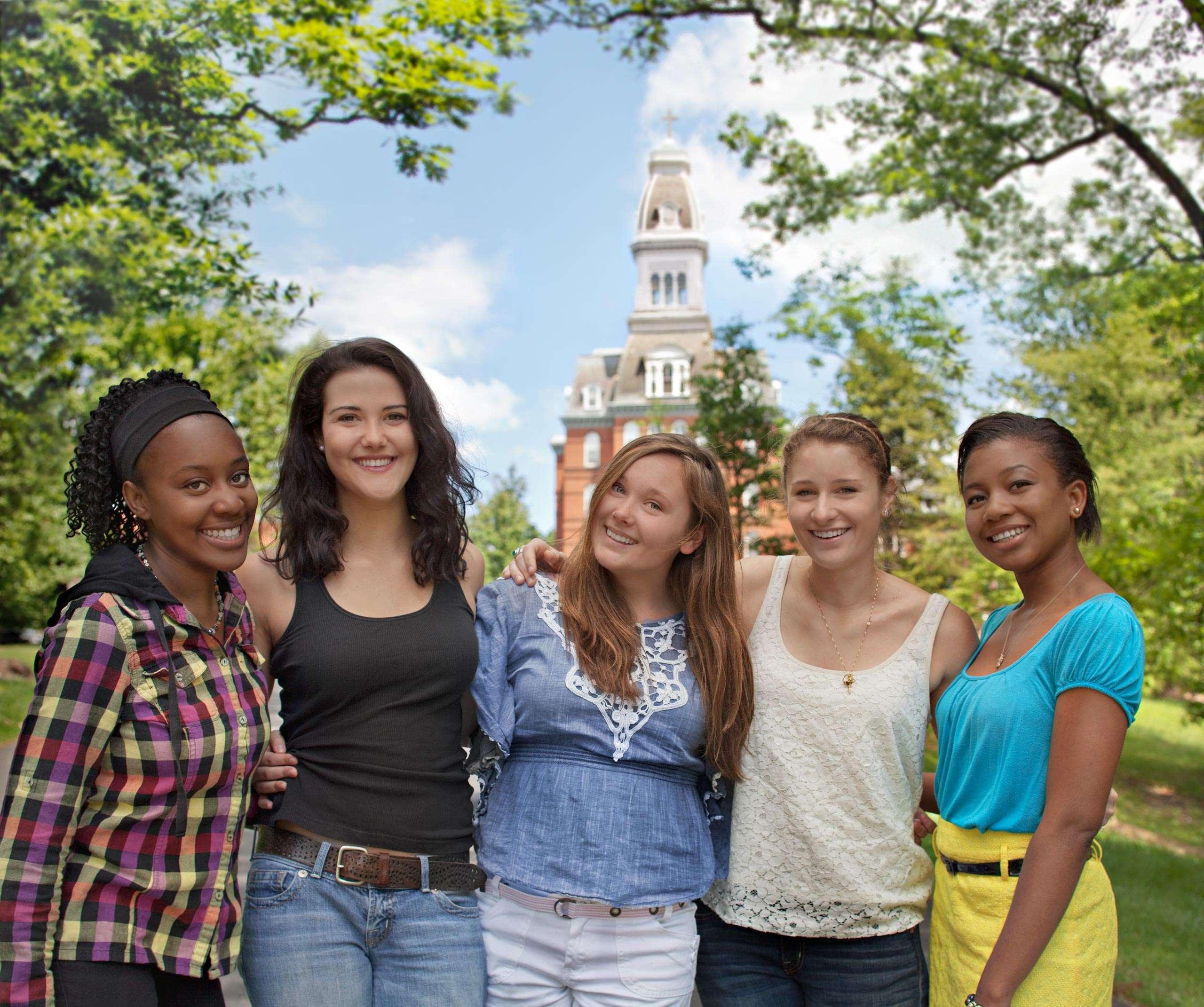 PORTFOLIO - People  #5 Students at Notre Dame of Maryland University