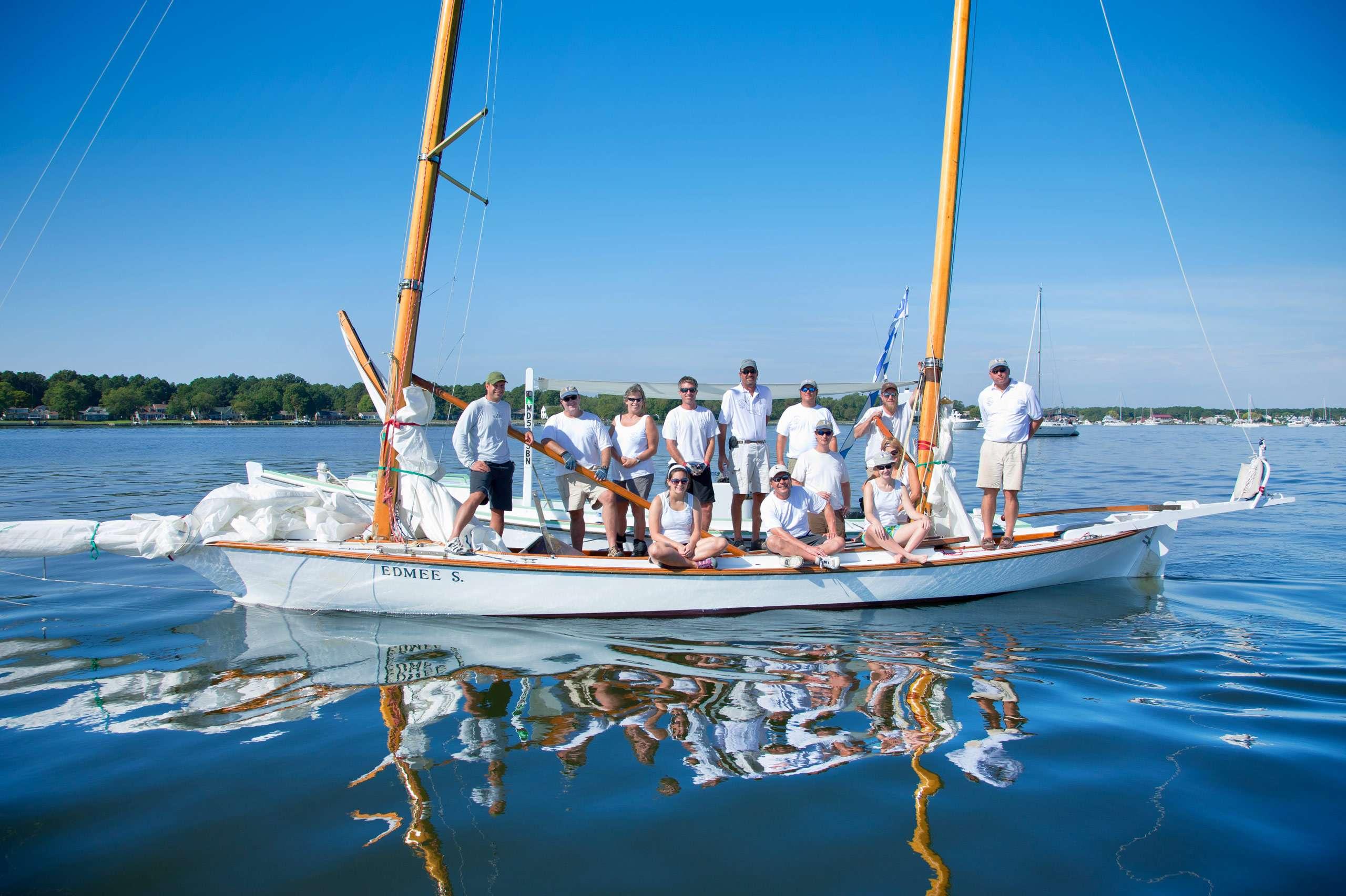 PORTFOLIO - Sailing - Log Canoes #30