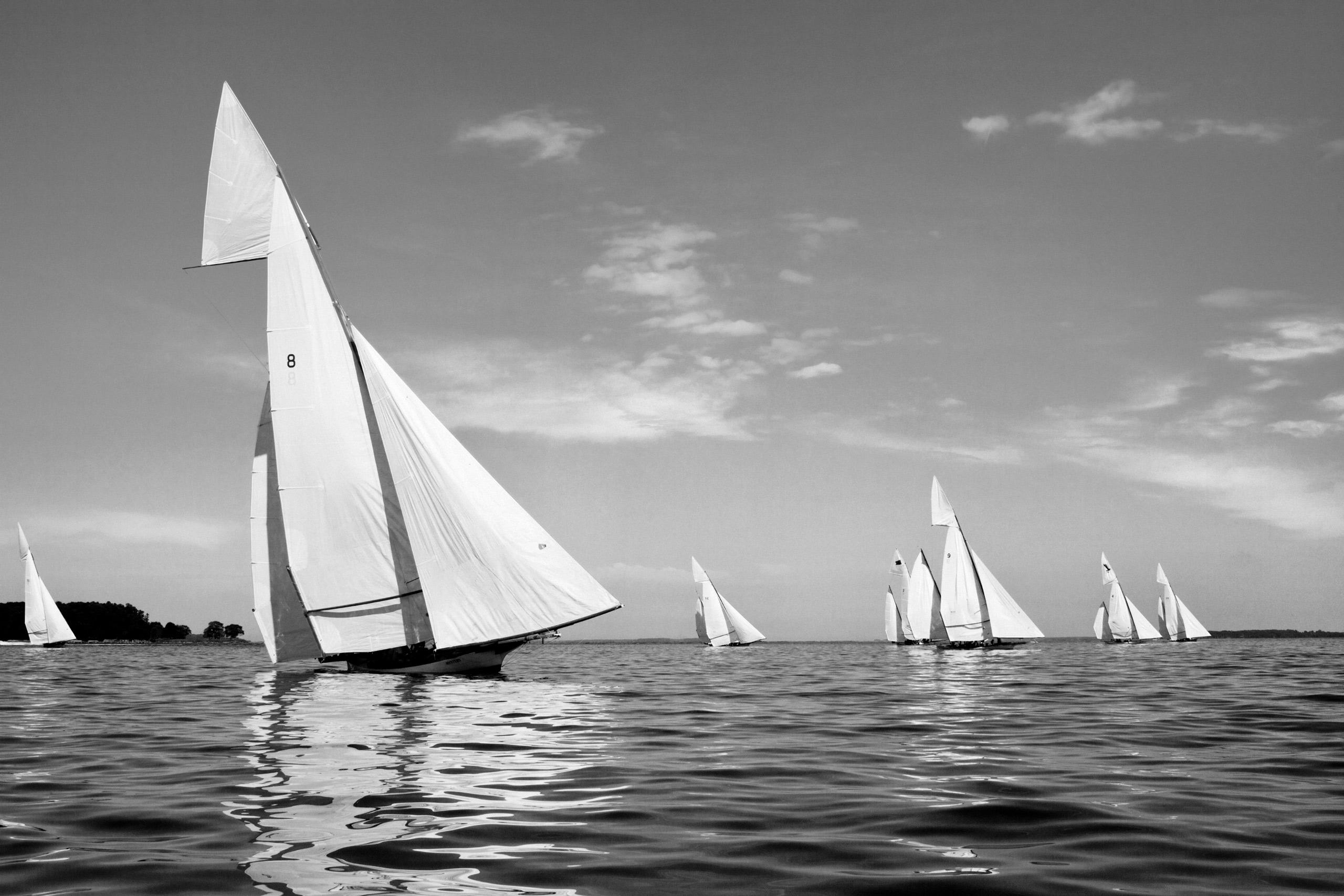 PORTFOLIO - Sailing - Log Canoes #1  PCG565