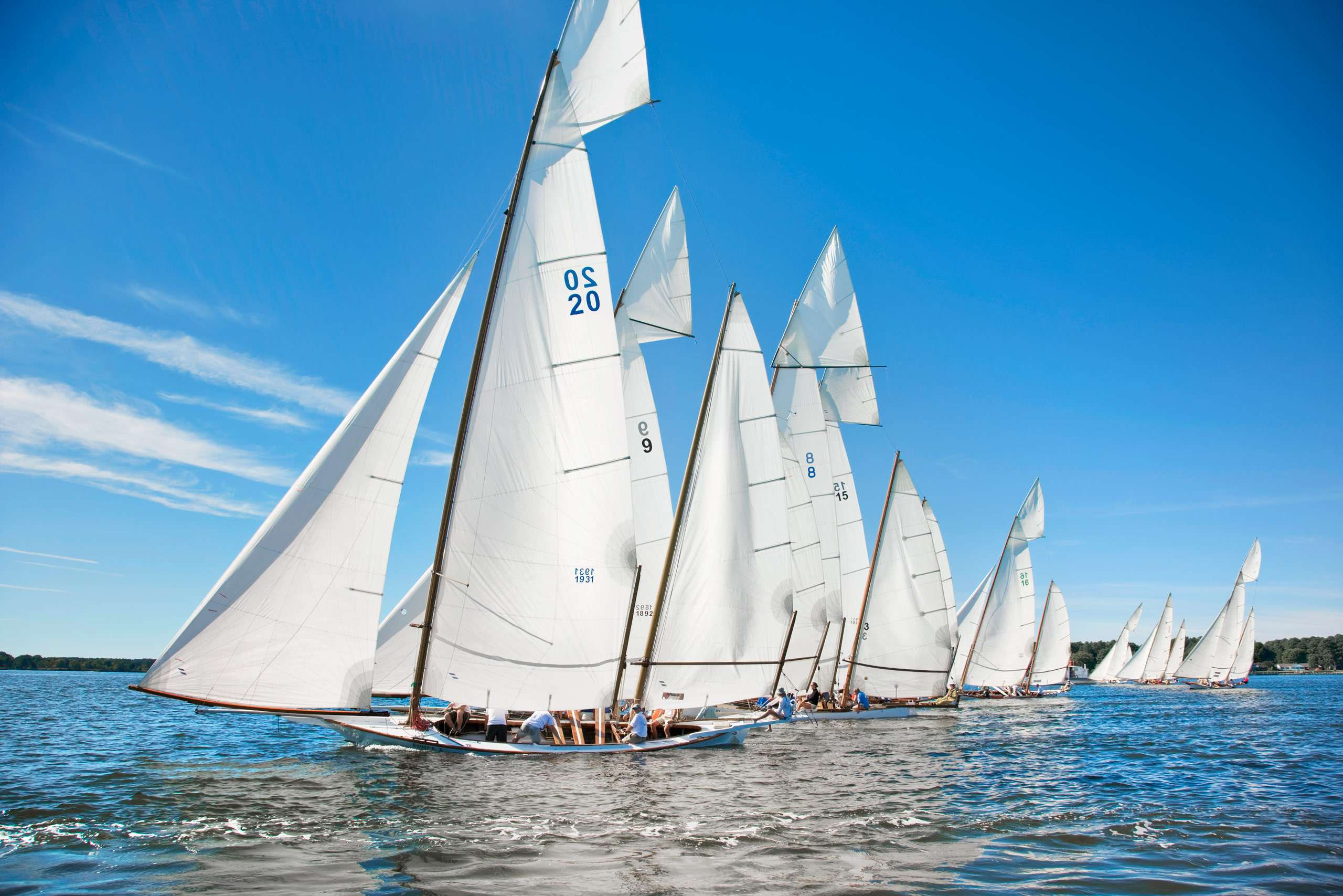 PORTFOLIO - Sailing - Log Canoes #6   PCG525