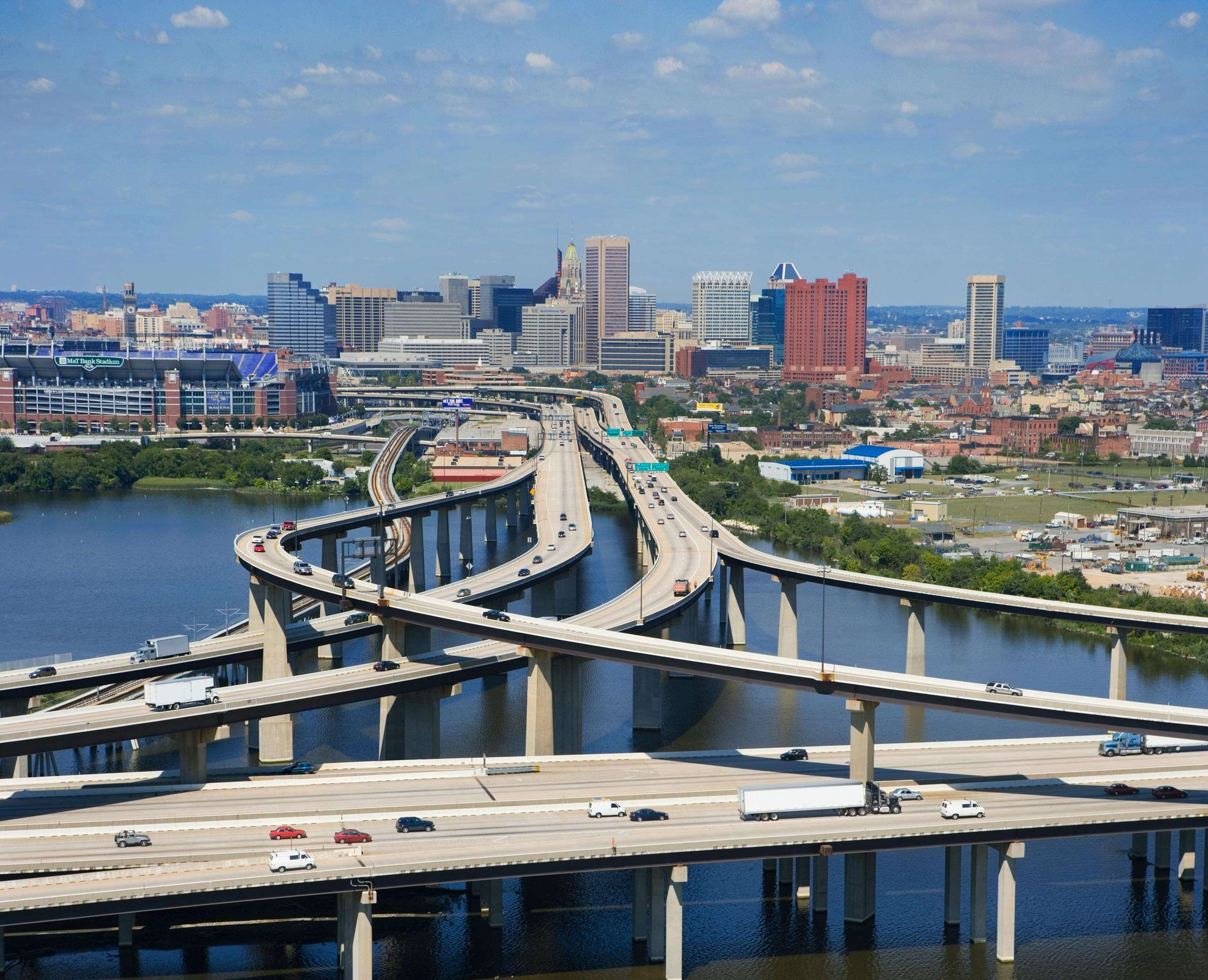 PORTFOLIO - Baltimore - Skyline  #2  PCG265