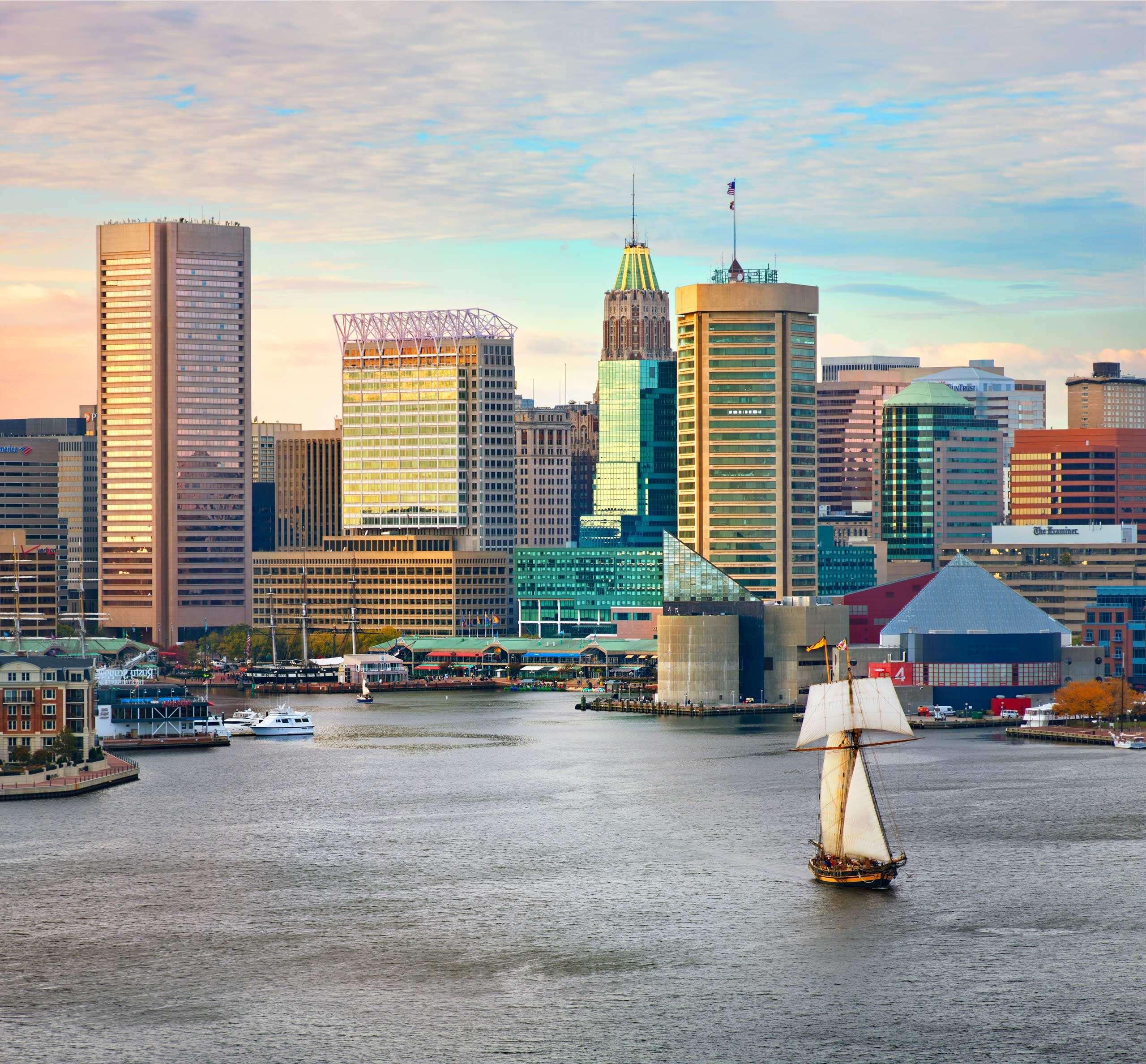 PORTFOLIO - Baltimore-Skylines #10  - PCG715