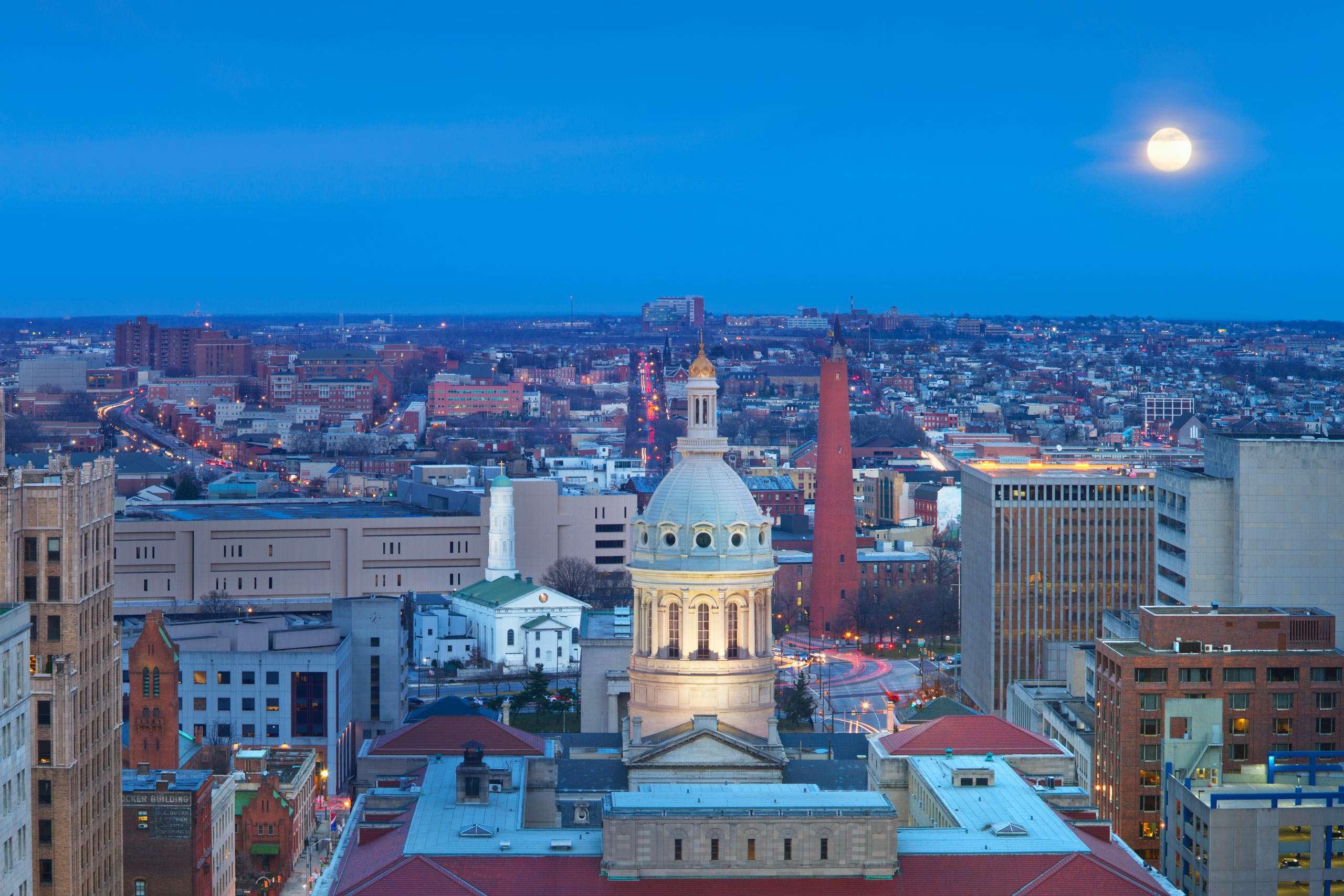 PORTFOLIO - Baltimore Skylines  #29-PCG646