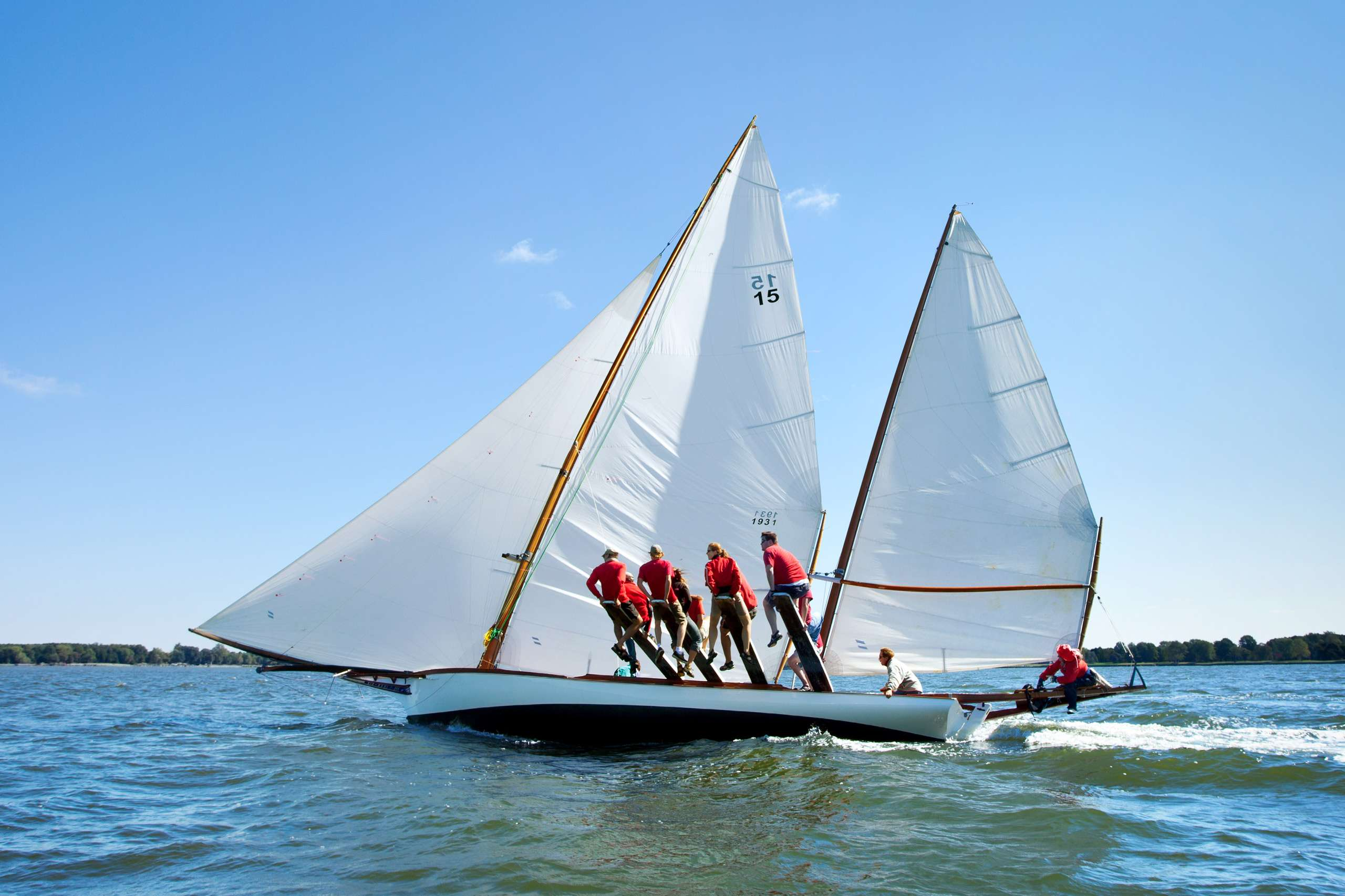 PORTFOLIO - Sailing - Log Canoes #10   PCG556