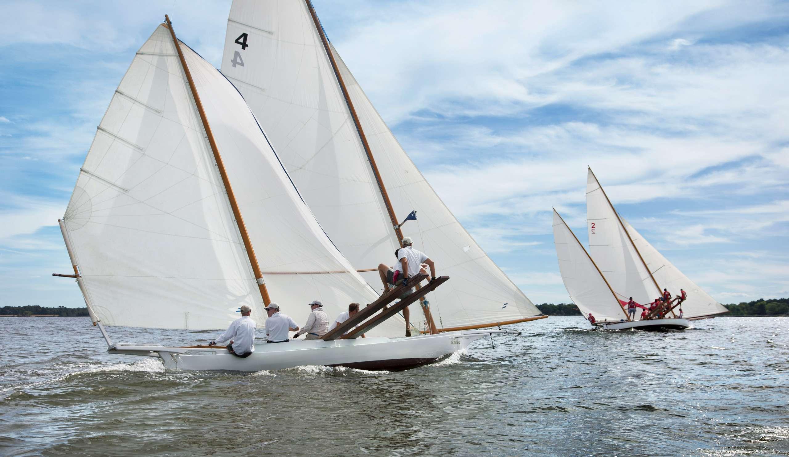 PORTFOLIO - Sailing - Log Canoes #28   PCG573