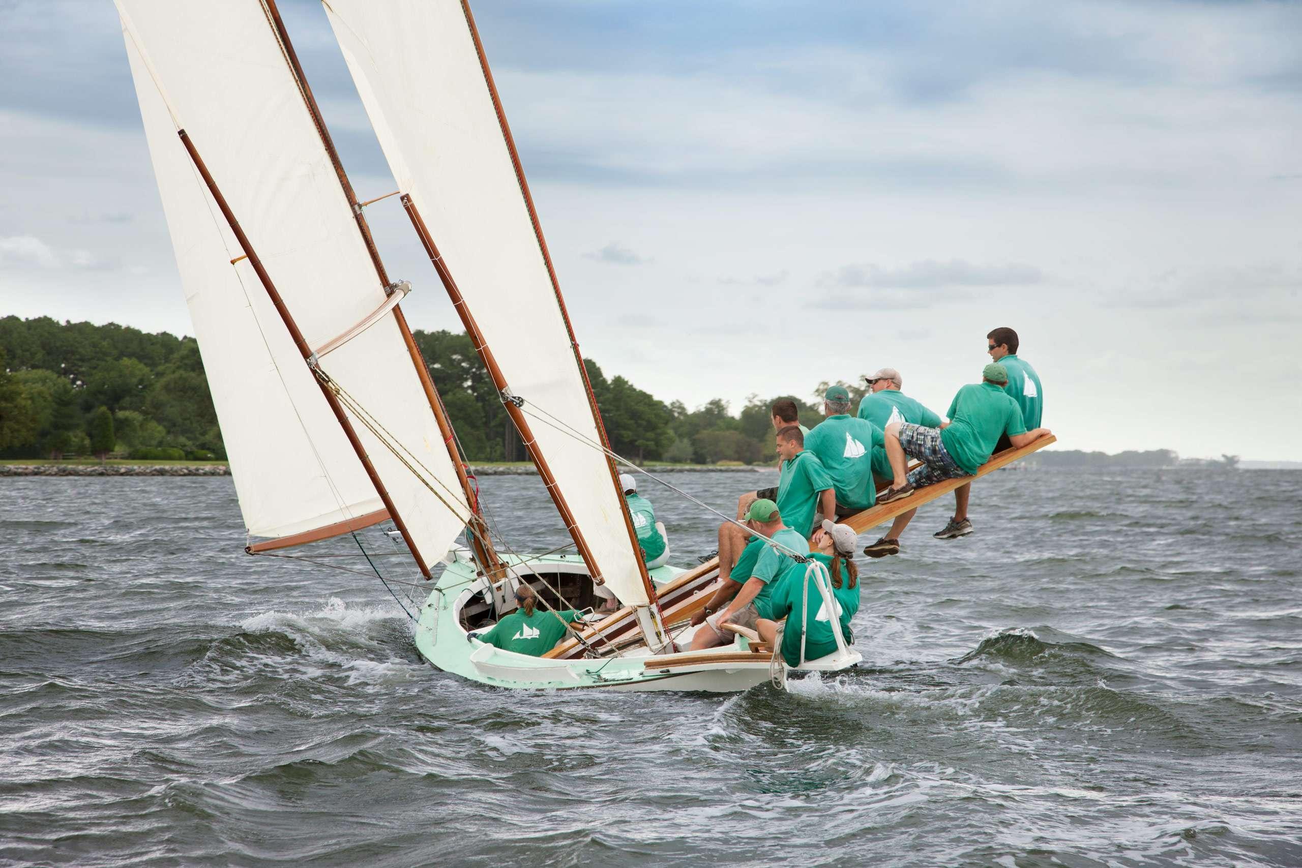 PORTFOLIO - Sailing - Log Canoes #29   PCG568