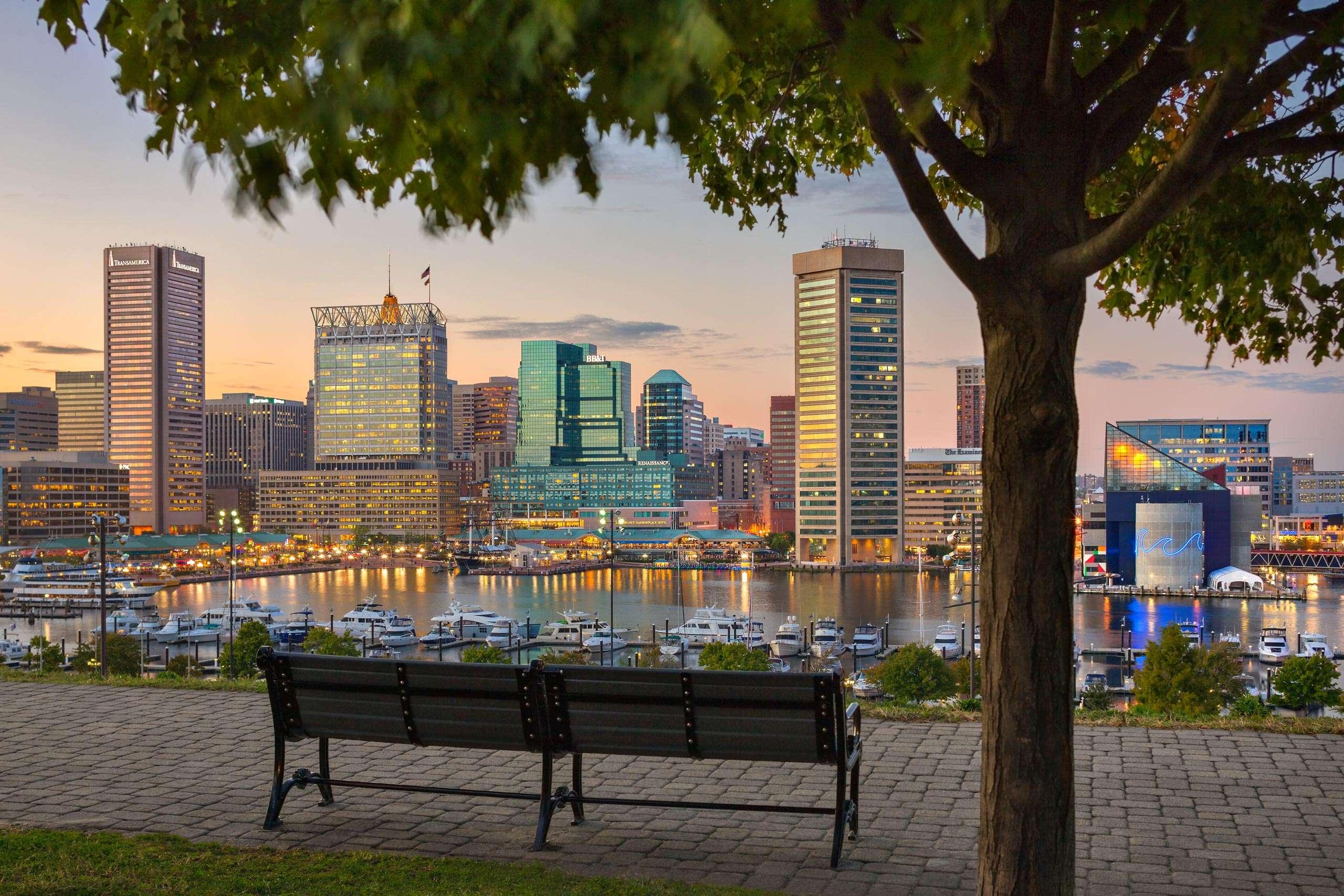 PORTFOLIO - Baltimore Skylines  #20-PCG724