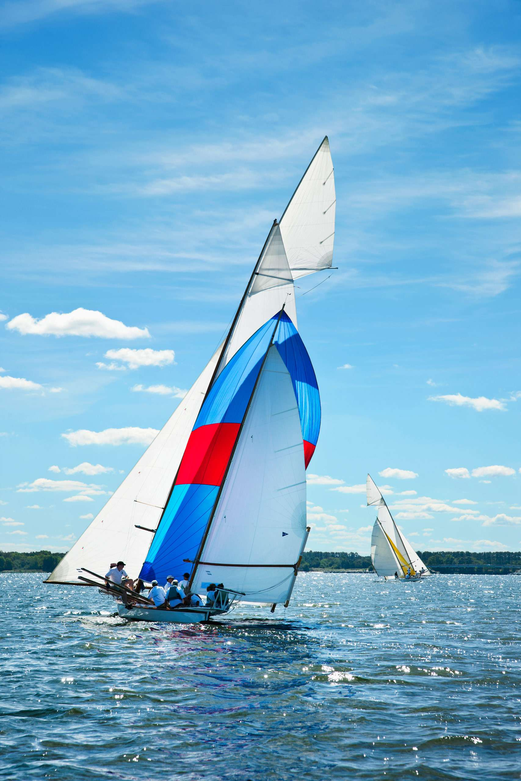 PORTFOLIO - Sailing - Log Canoes #22   PCG582