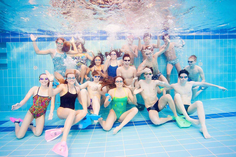 Underwater Photography - Swim Team
