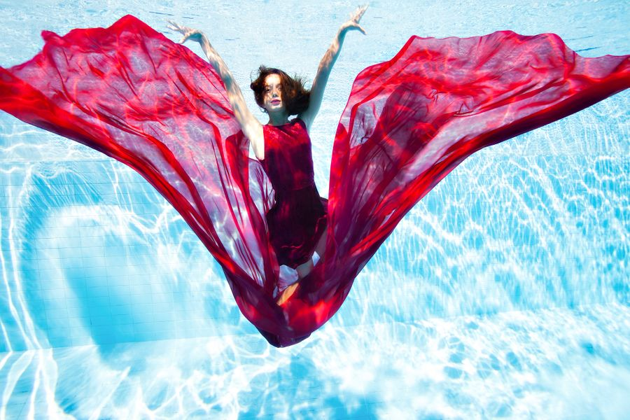 Underwater Photography - Artistic Swimming