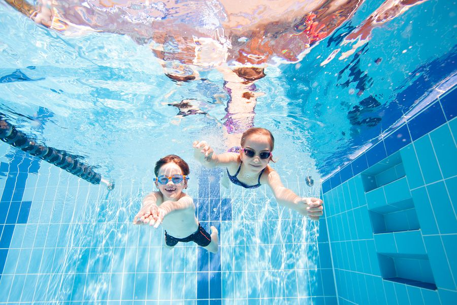 Underwater Photography - Swimmers