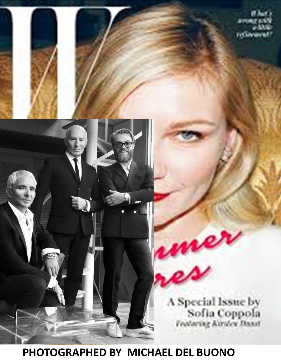 Garren , THOM PRIANO by michael del buono for W magazine