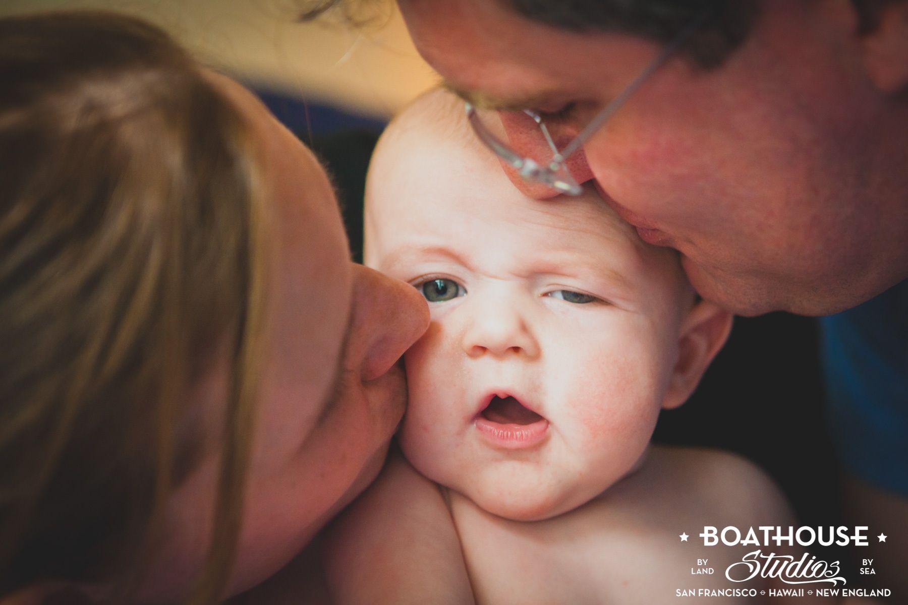 Marin Family Photographer: Baby Parker