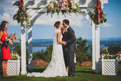 Mountaintop Wedding at Point Lookout