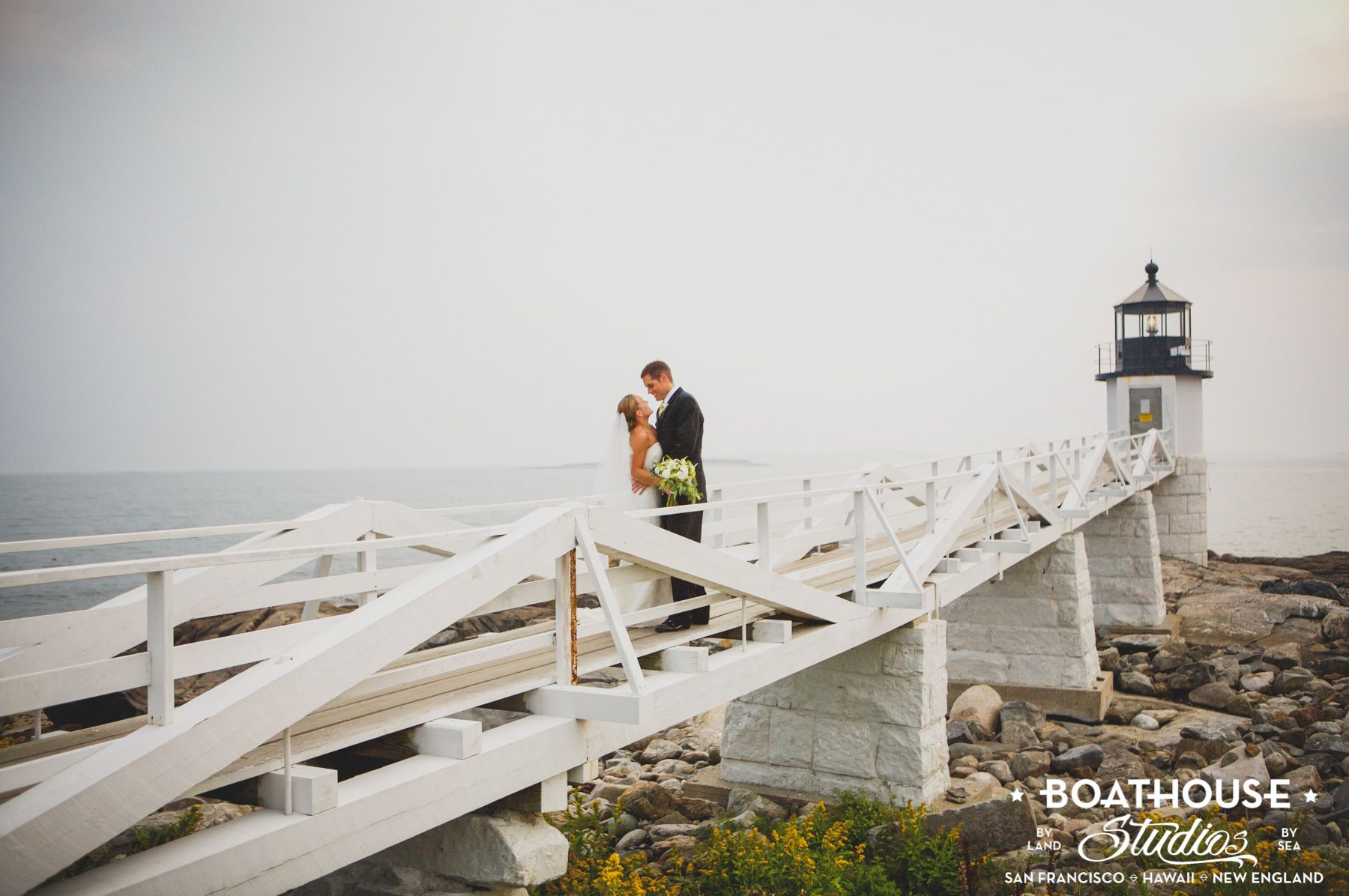 Saltwater Farm Wedding, St. George, Maine.