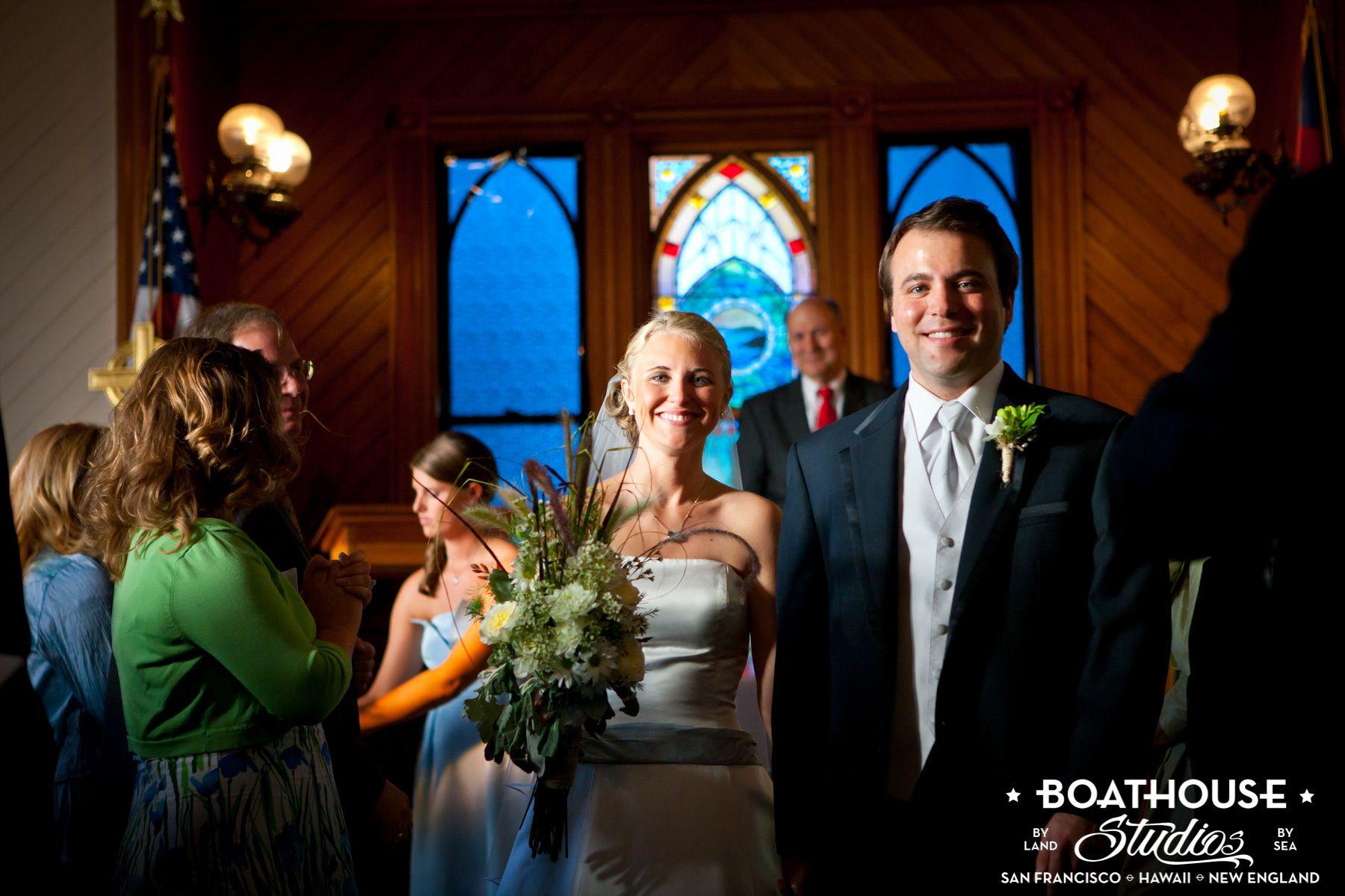 A Cousin's Island, Maine Wedding